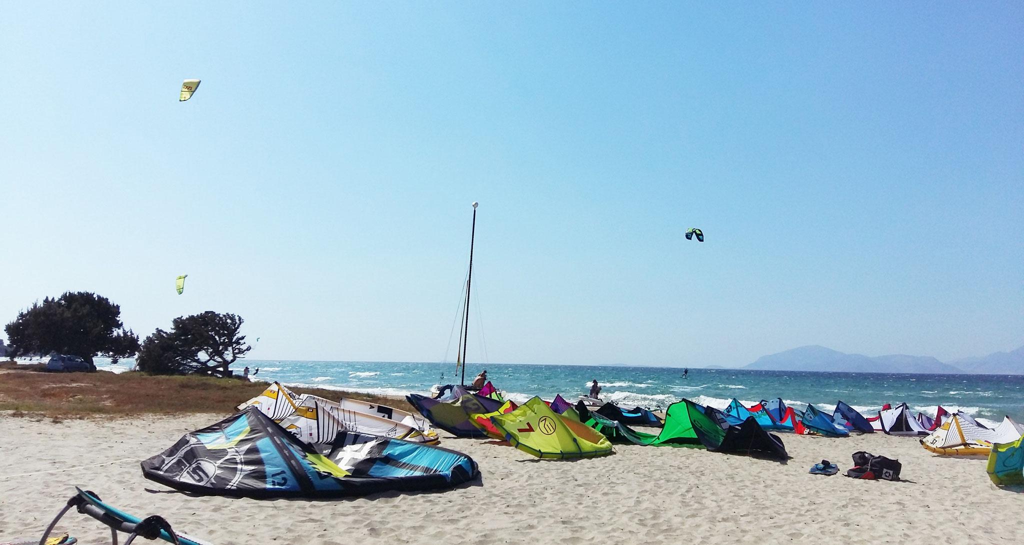 Kitesurfing Mastichari