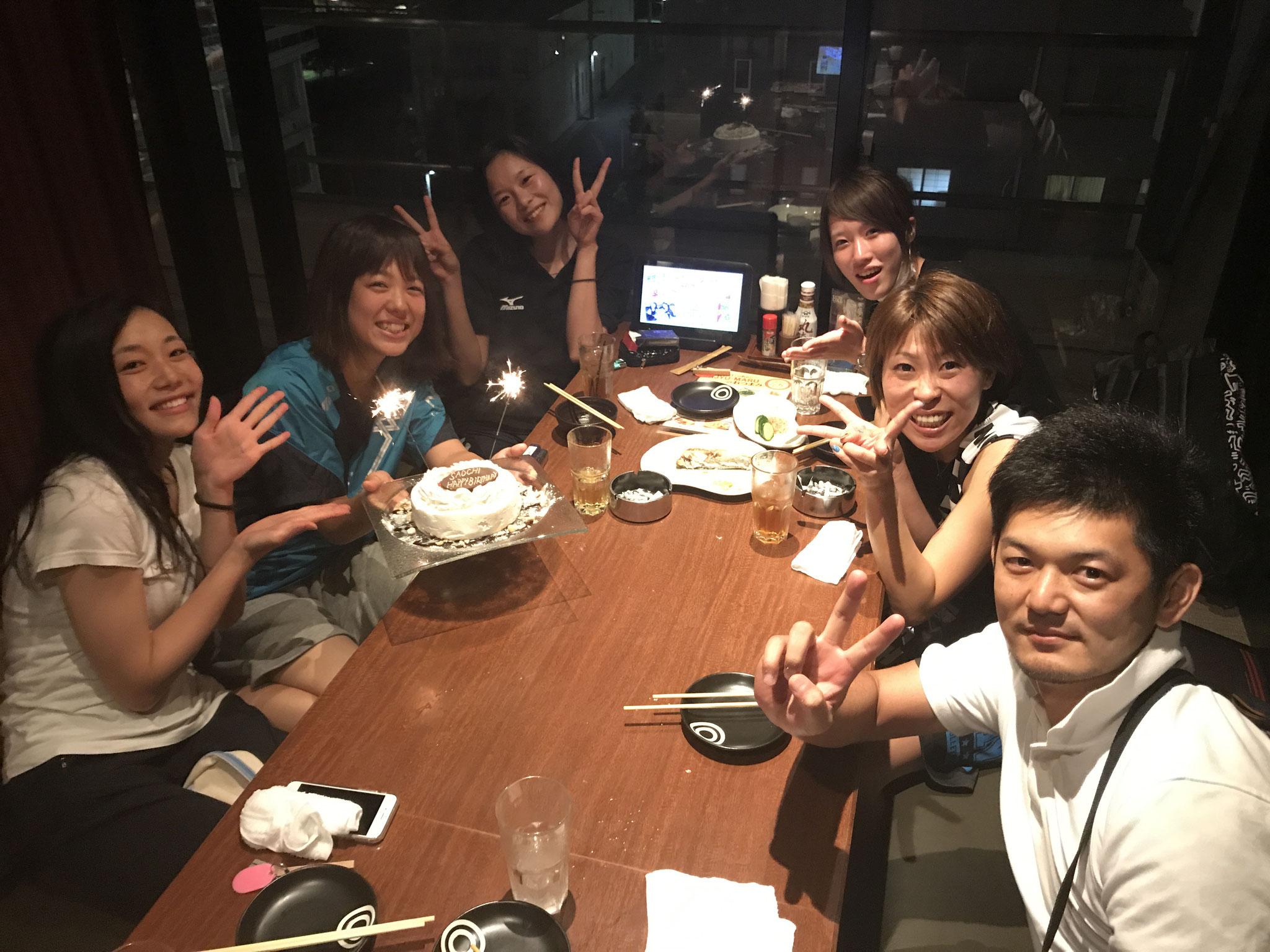 遠藤コーチ、いつもありがとう!(*^_^*)