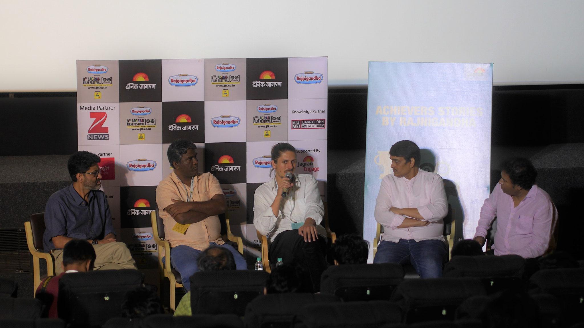 Podiumsdiskussion in Mumbai (India)