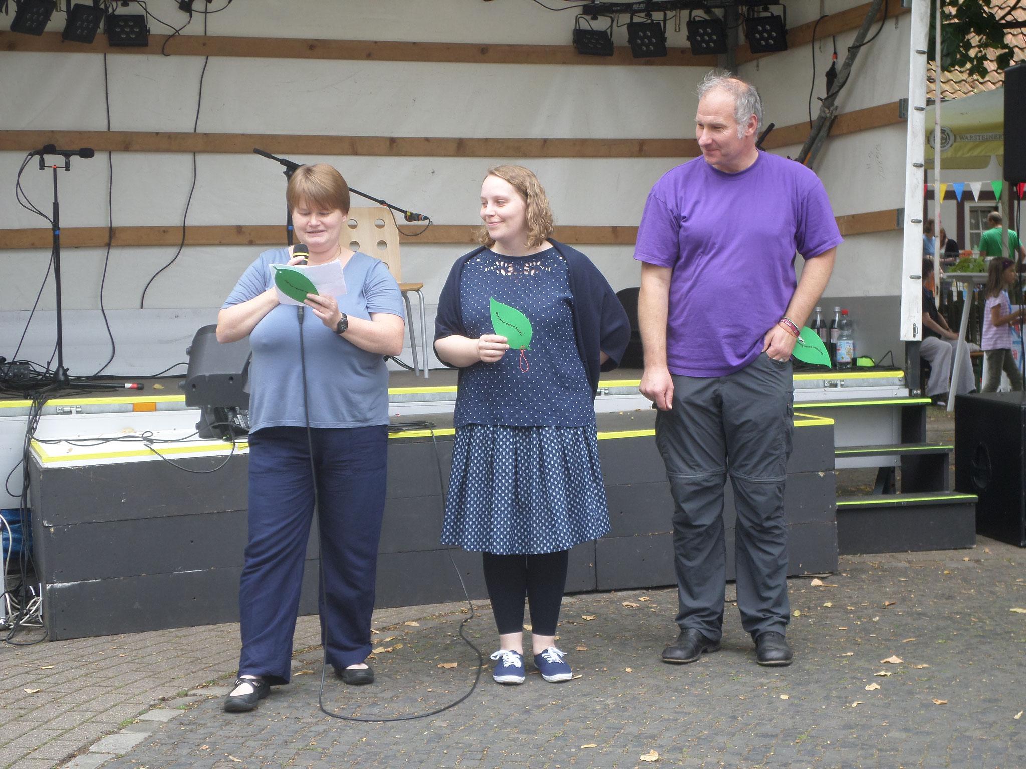 Aktionseröffnung unter Schirmherrschaft des Bürgermeisters auf dem Andreasfest