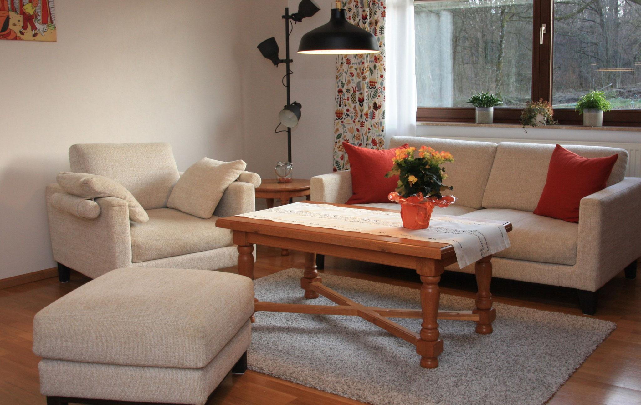 Kuschelige Sitzgruppe  |  Comfortabel bankstel  |
