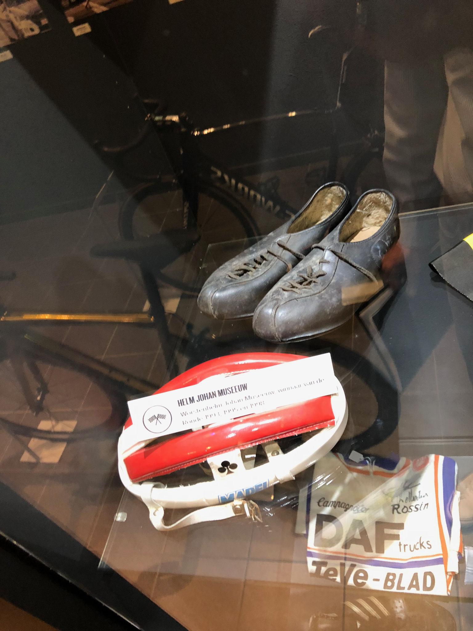 Original-Equipment von Johan Museeuw, dem dreifachen Sieger des Rennens.
