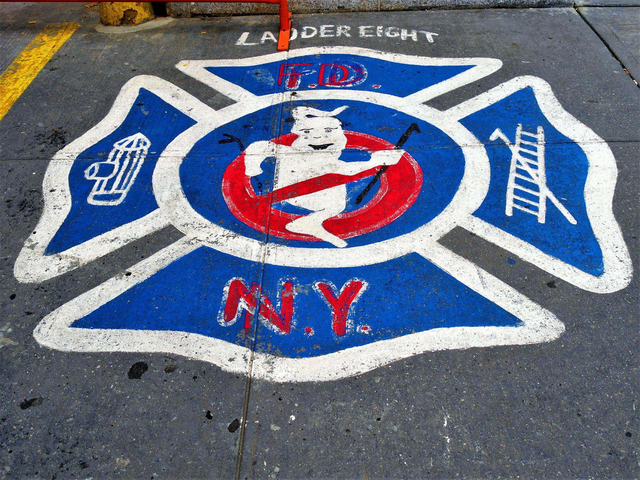 Ghostbusters Feuerwache New York