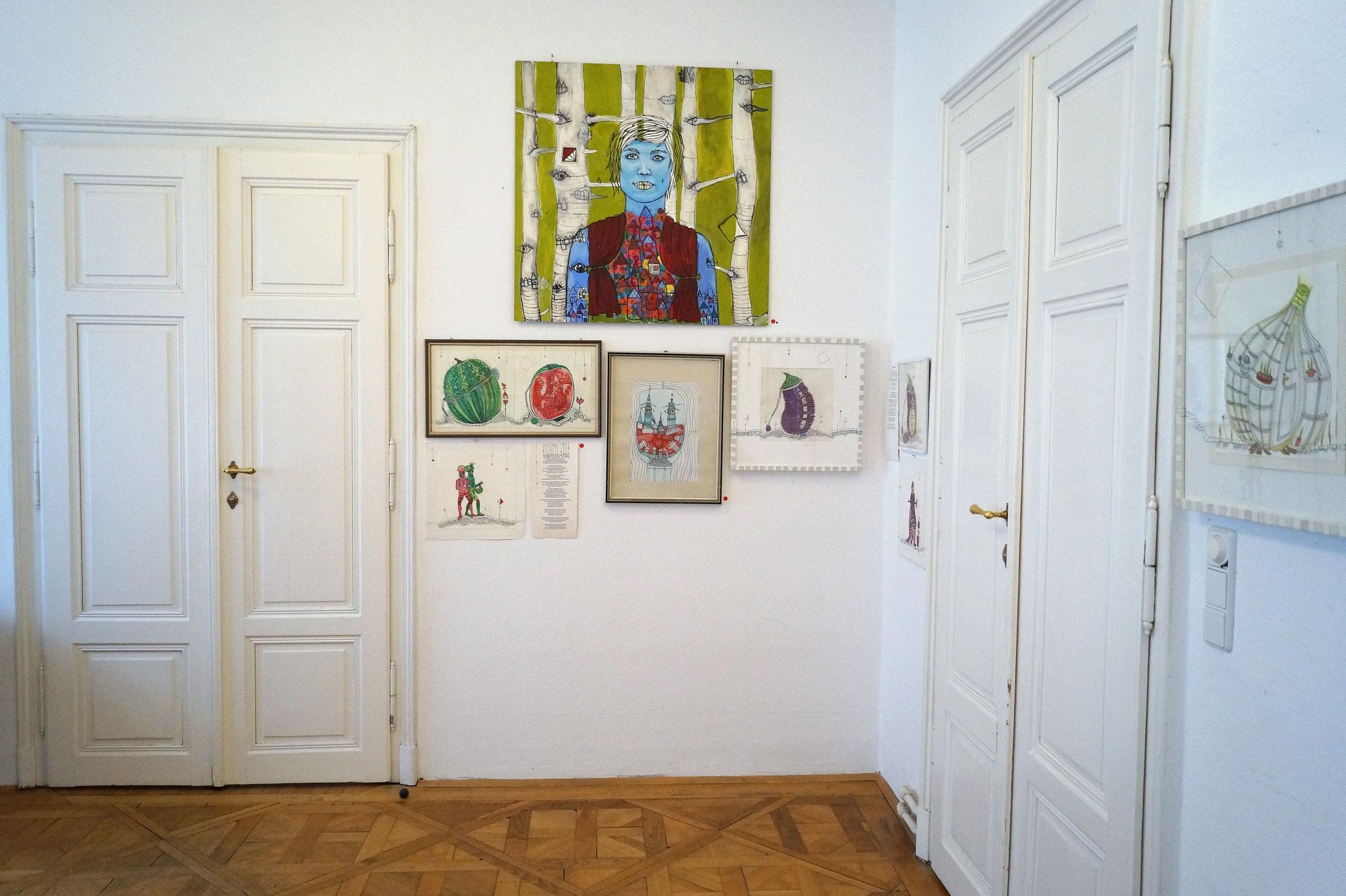 Wien Ausstellung 'Sinnesfreudenwerk' März bis April 2018