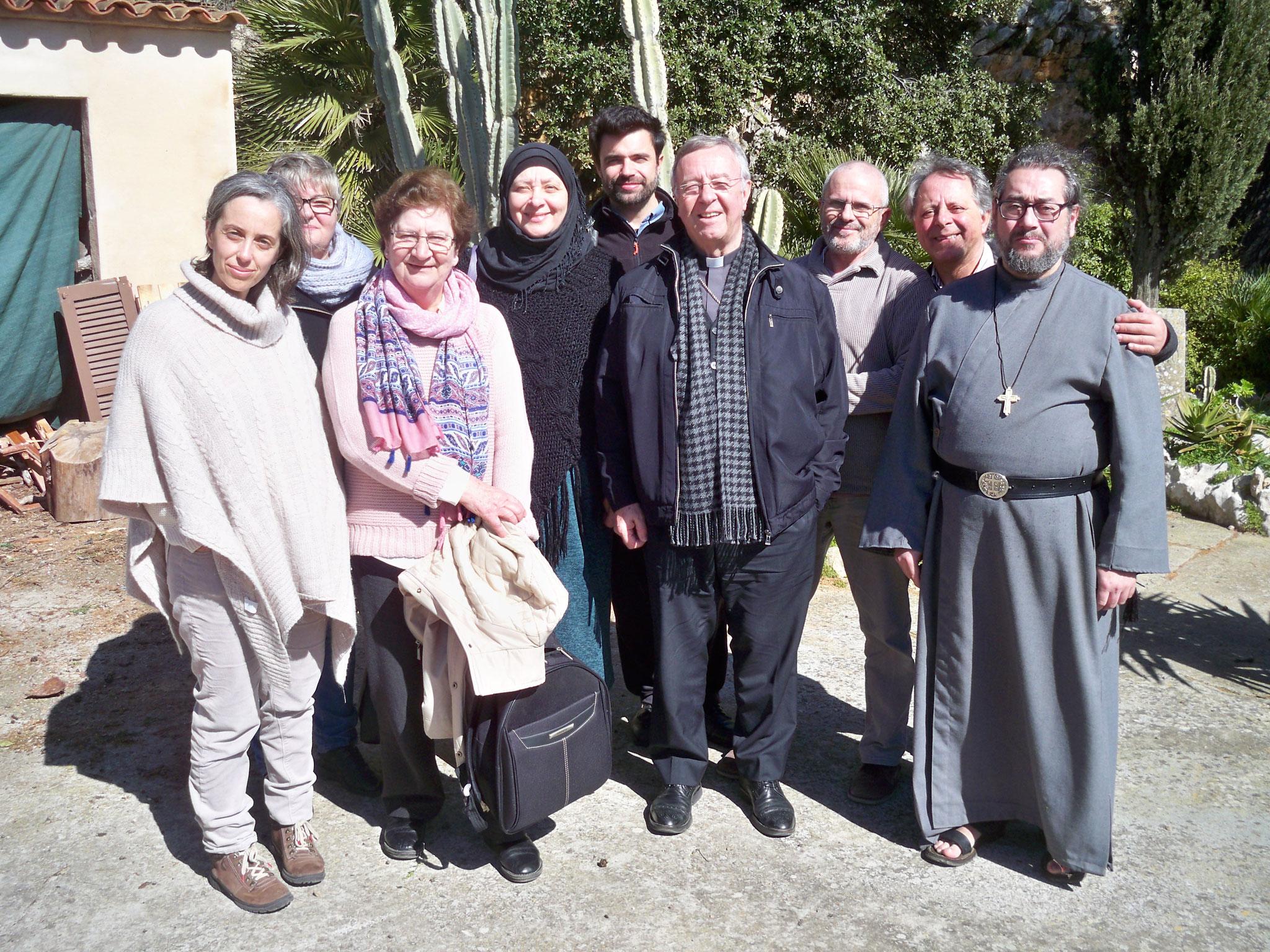 """Visita """"Bisbe Sebastià Taltavull i Grup Interreligiós"""" Any 2019"""
