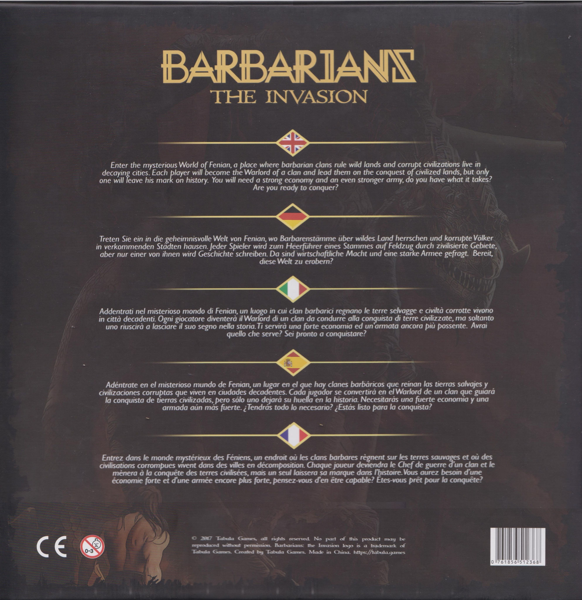 Barbarians The Invasion Rückansicht