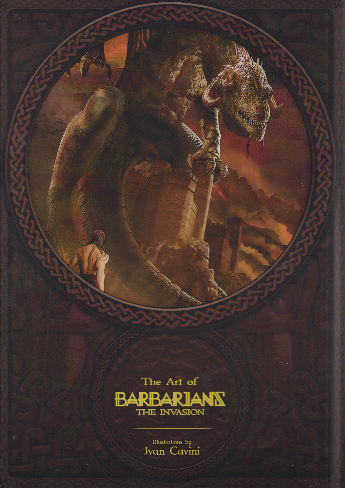 Barbarians The Invasion Artbook
