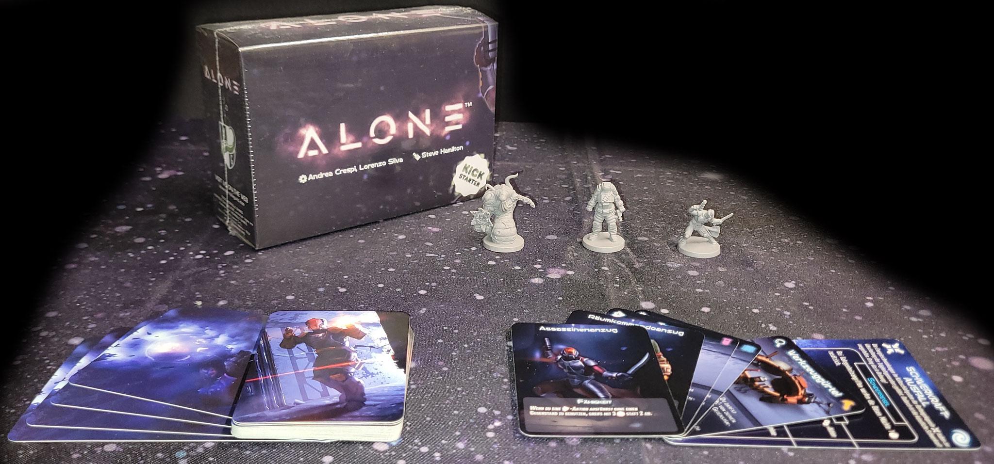 Alone Kickstarter