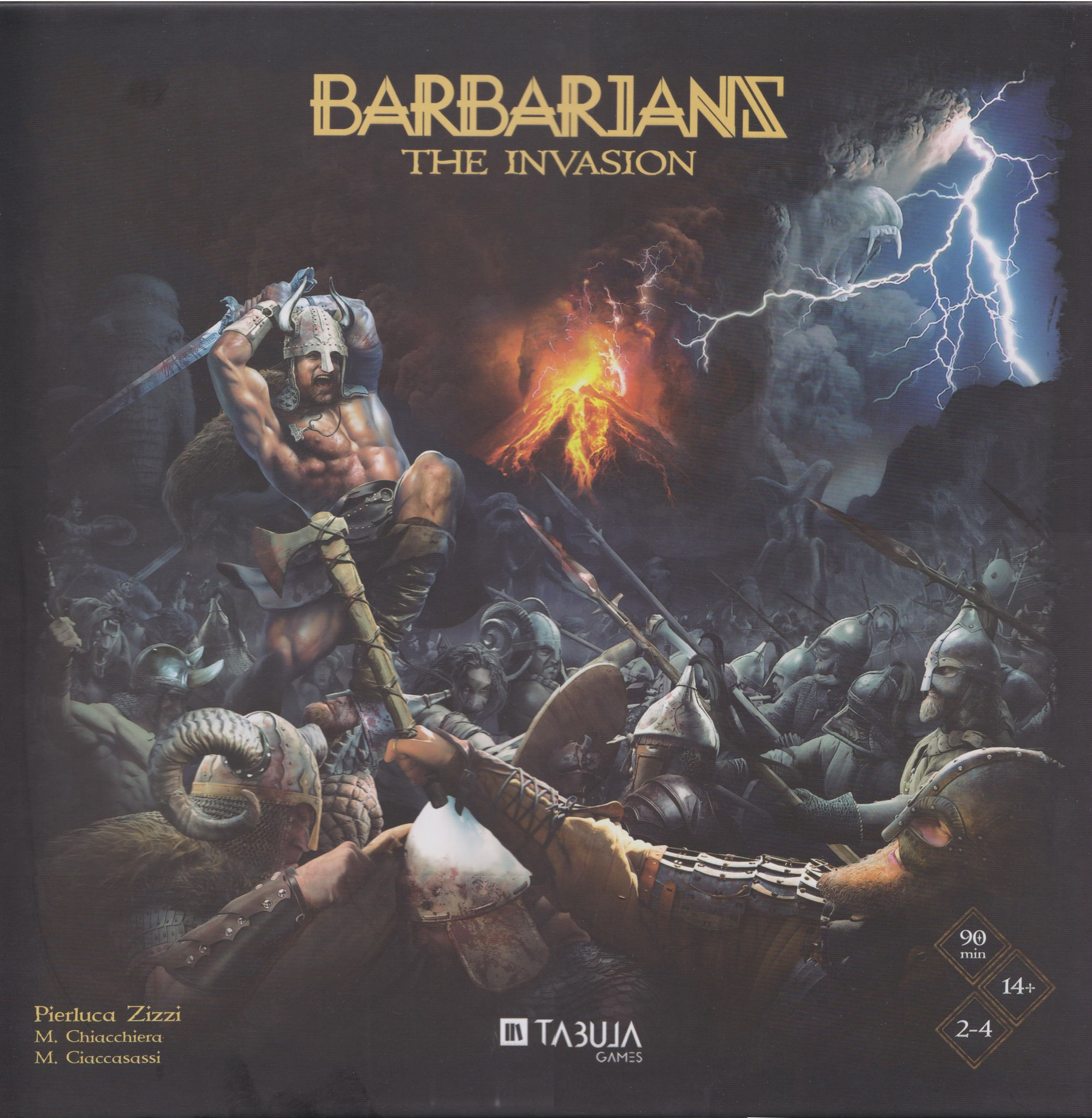 Barbarians The Invasion Frontansicht