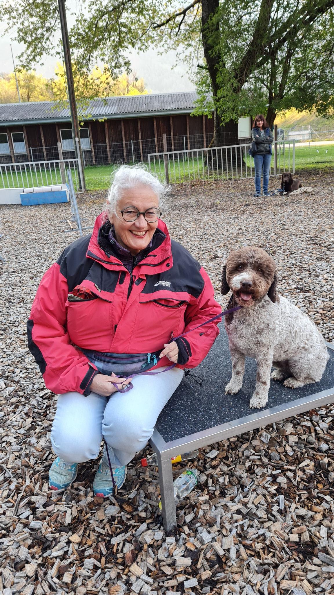 Doris mit Lia