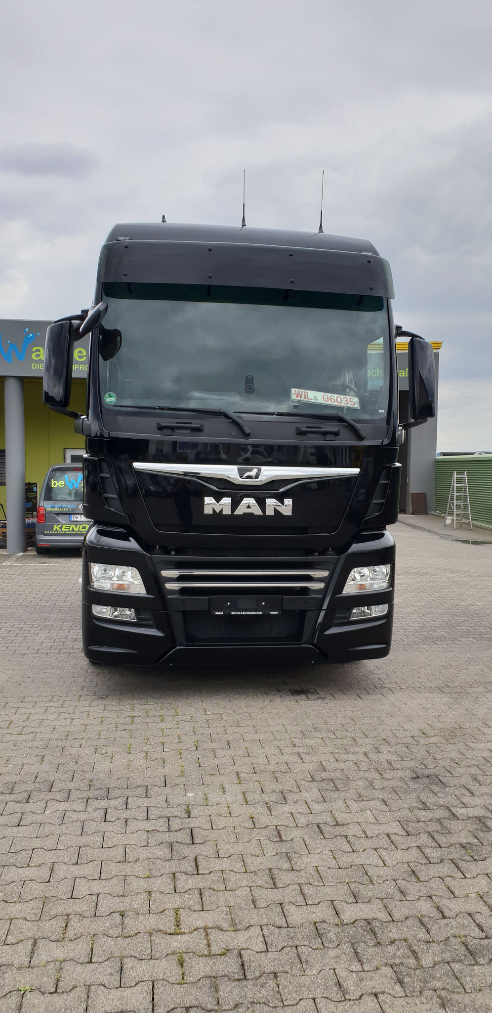 be-washed Truckwash Wittlich