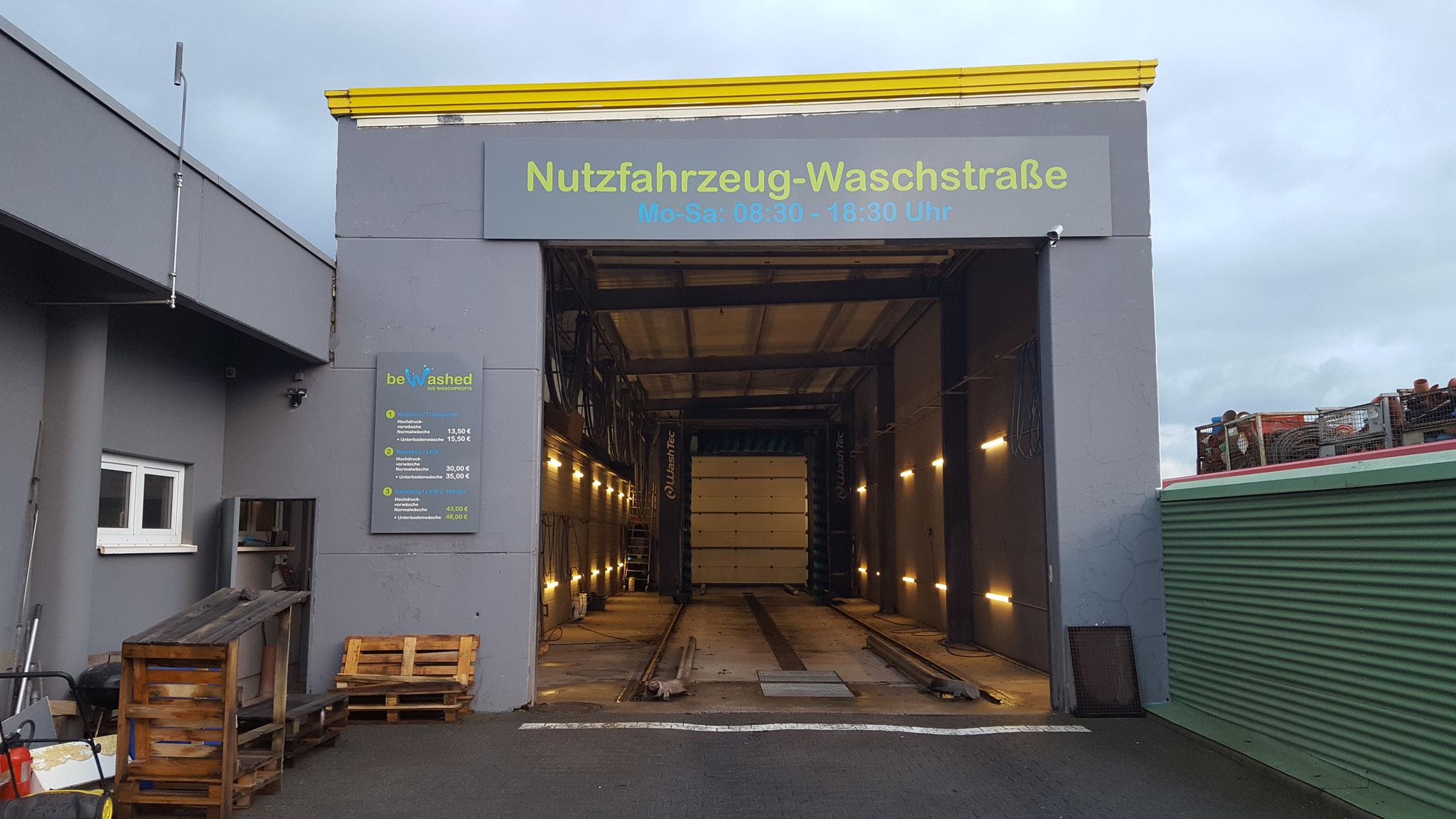 be-washed Truckwash Wittlich