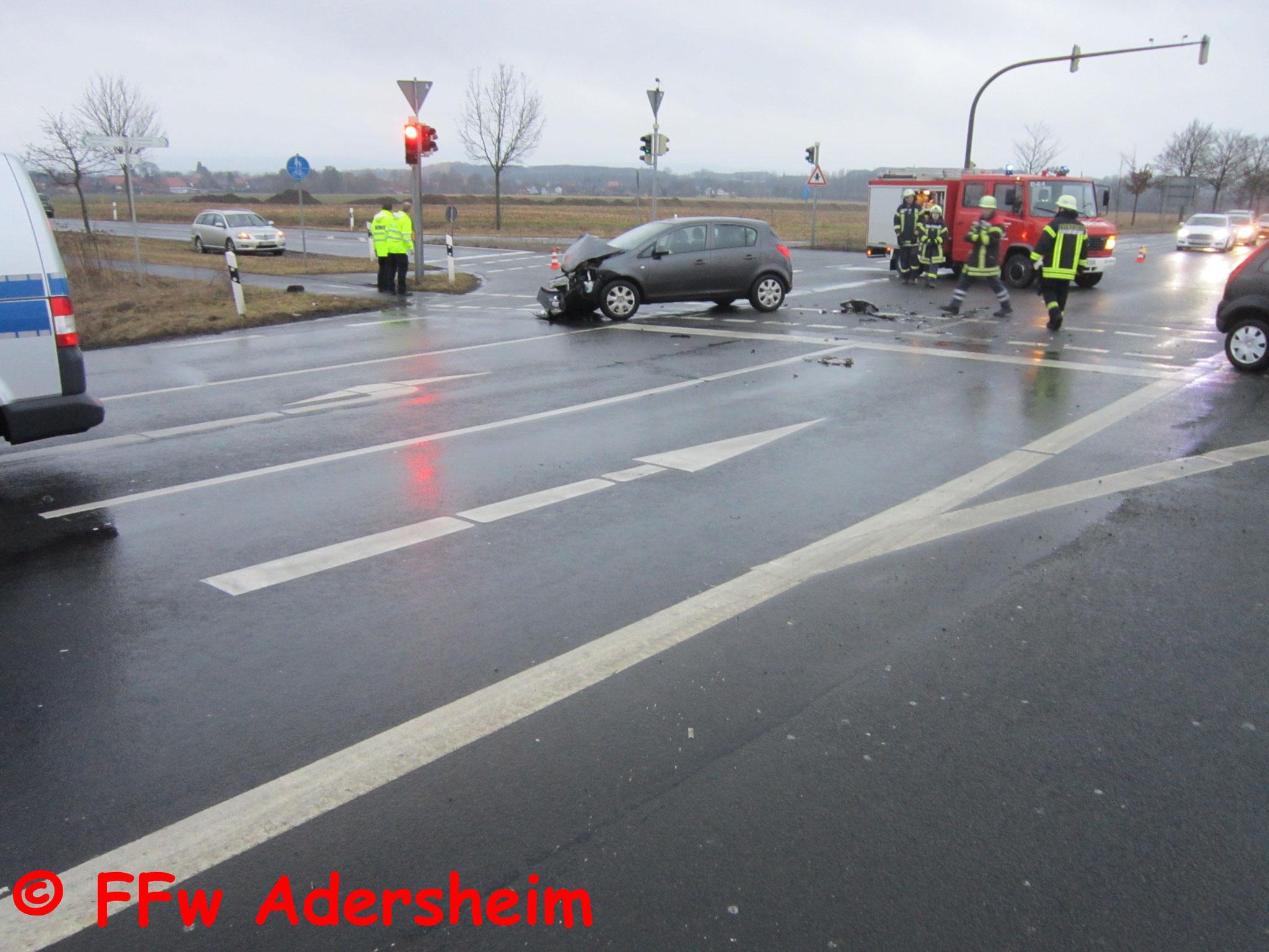 2017-02-17 Verkehrsunfall Kreuzung K90/L495 - Freiwillige Feuerwehr ...