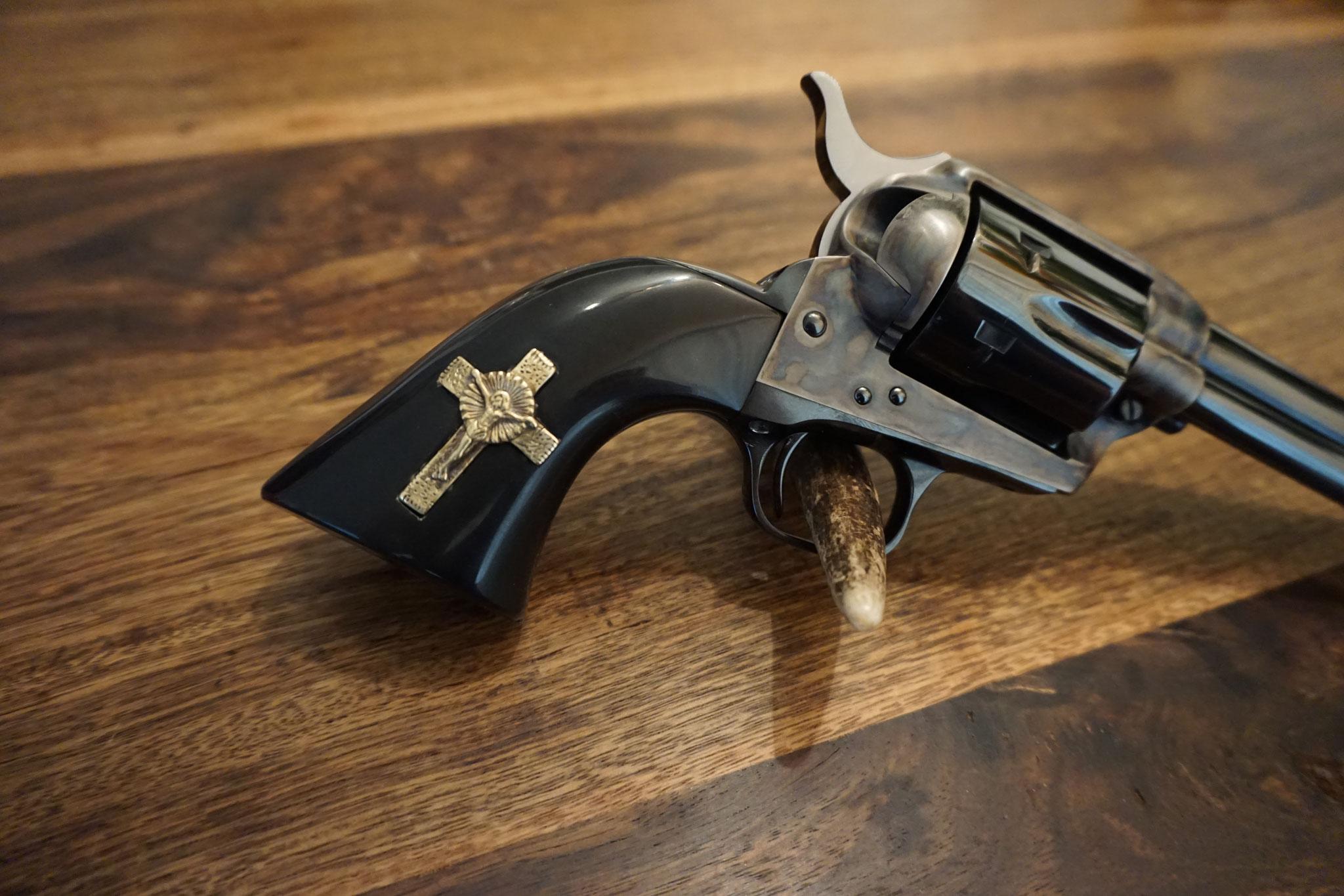 Nachbau des Revolvergriff von dem Film 3:10 to Yuma
