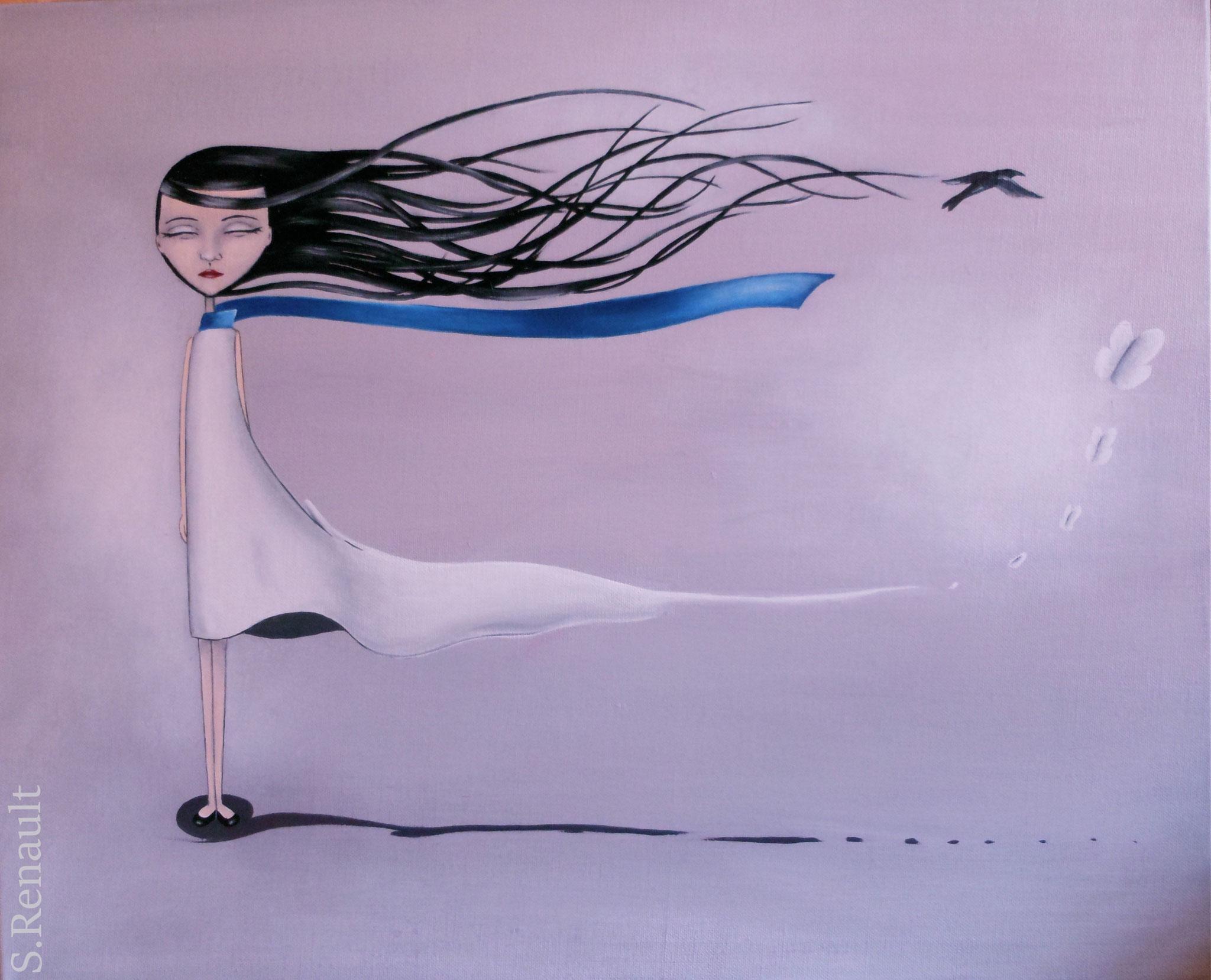 Le Vent me Portera (65x54 cm) 2012