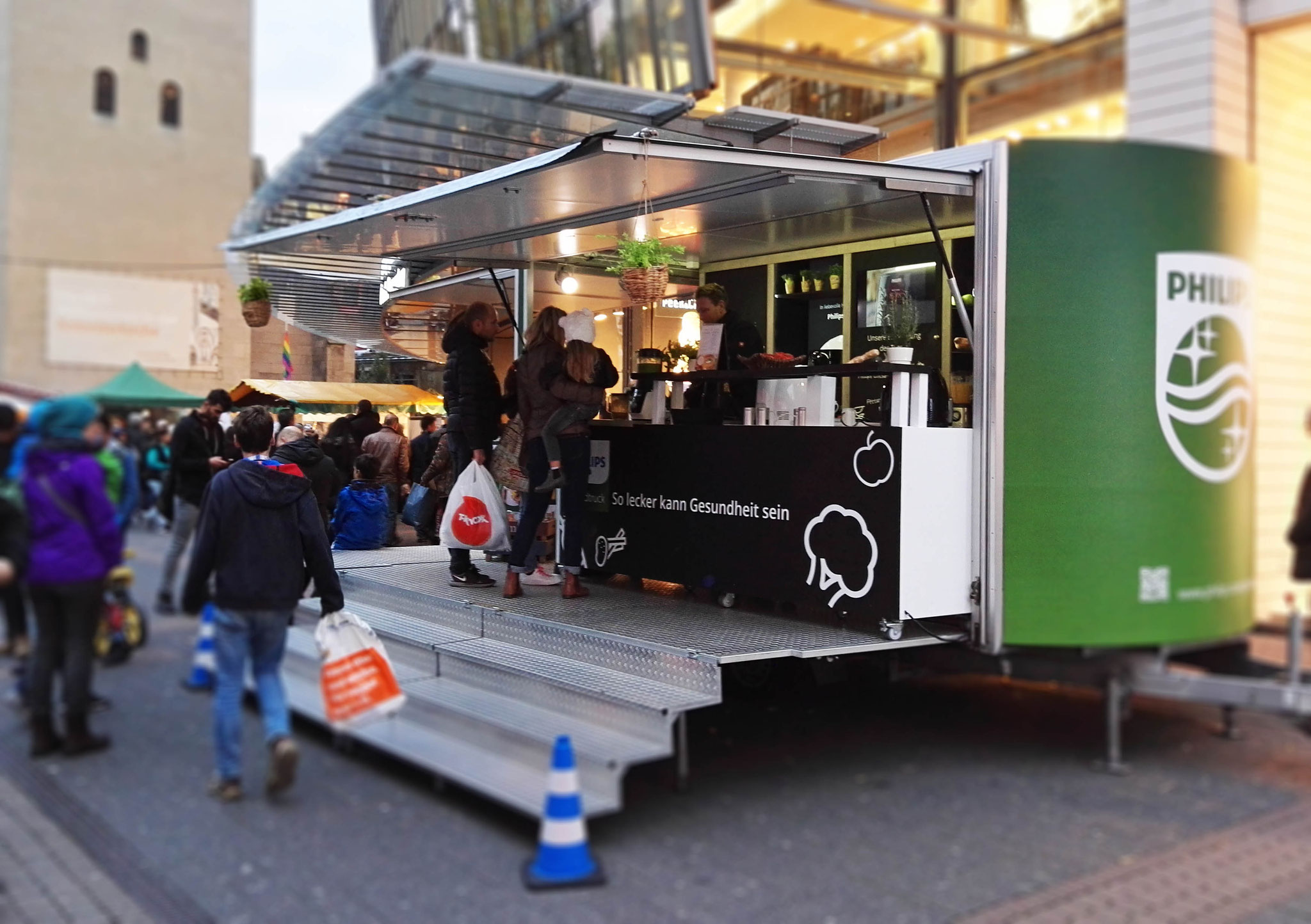 Philips Foodtruck - Roadshow, Food Promotion