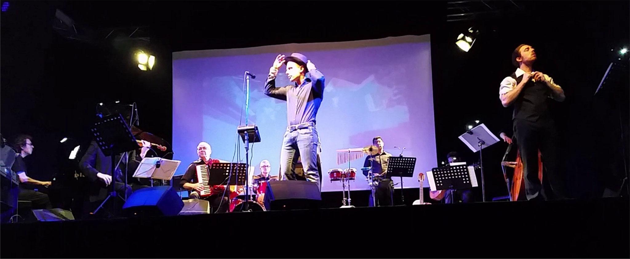 Dario Salomone, voce solista