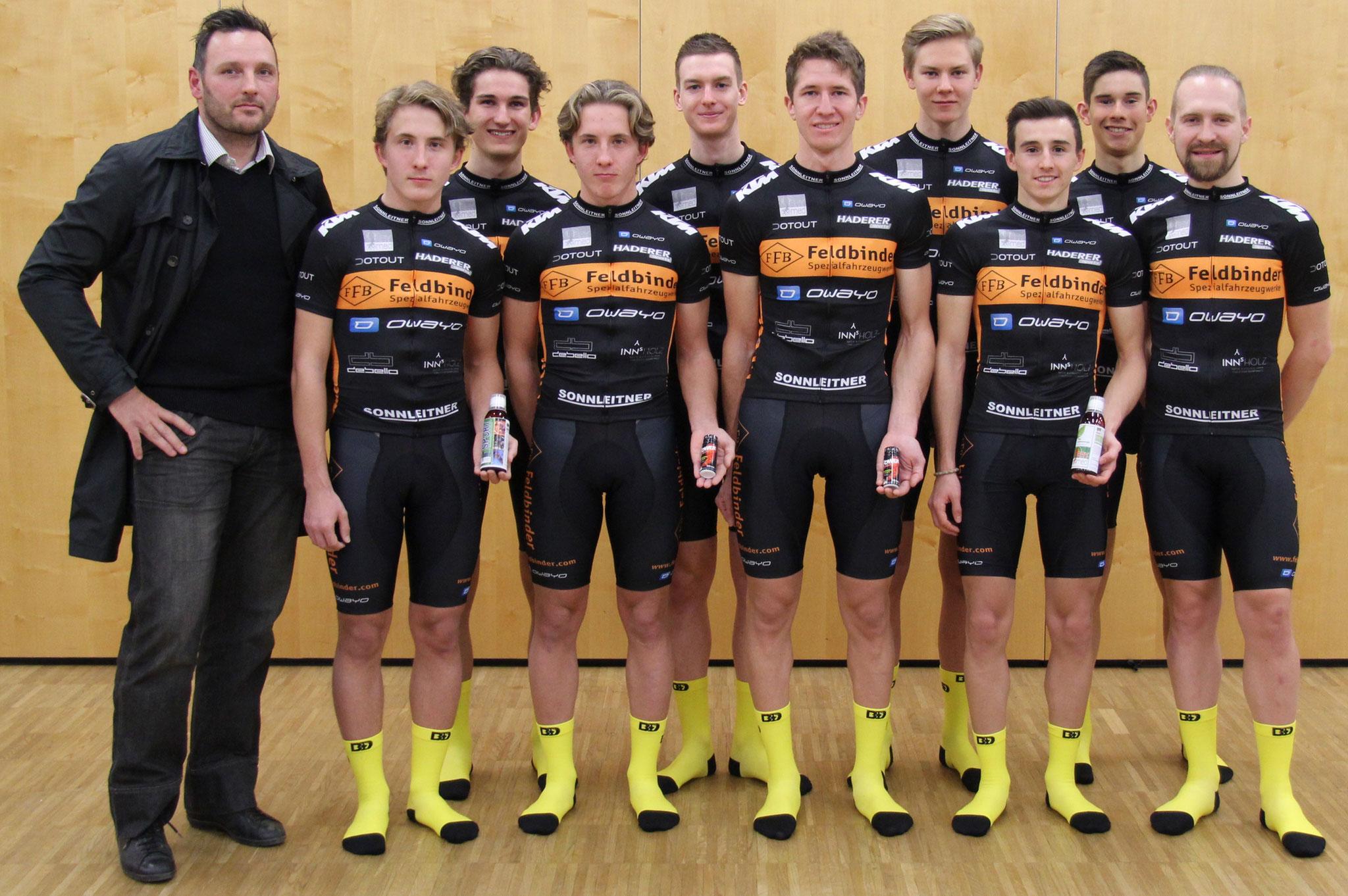 Gerhard Stanek mit unserem Team