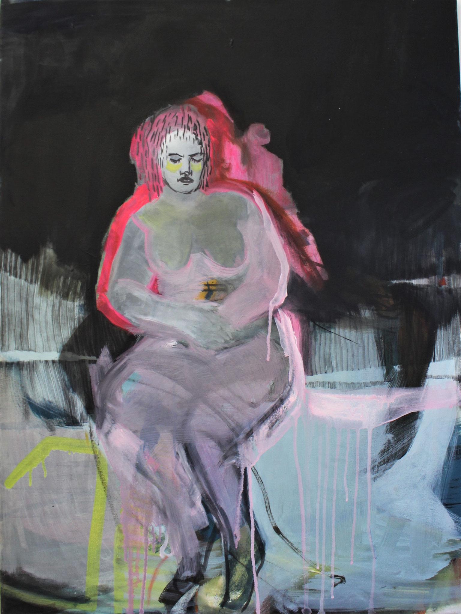 breathe II, Öl auf Leinwand, ca. 80x50 cm