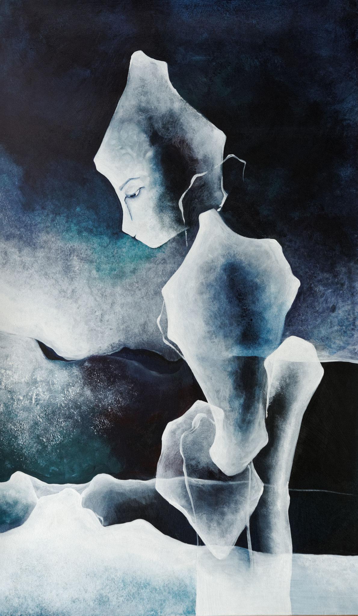 """""""Réalités immobiles X"""" - Peinture acrylique"""