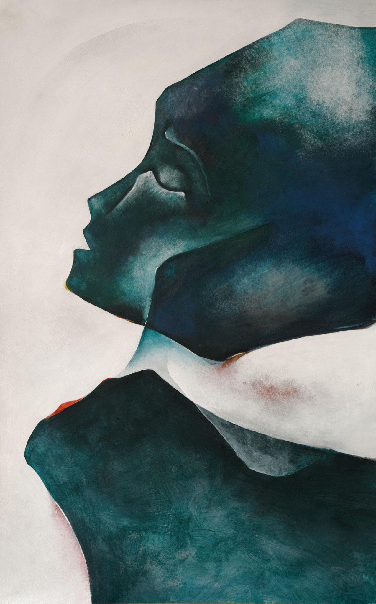 """""""Réalités immobiles IX"""" - Peinture acrylique"""