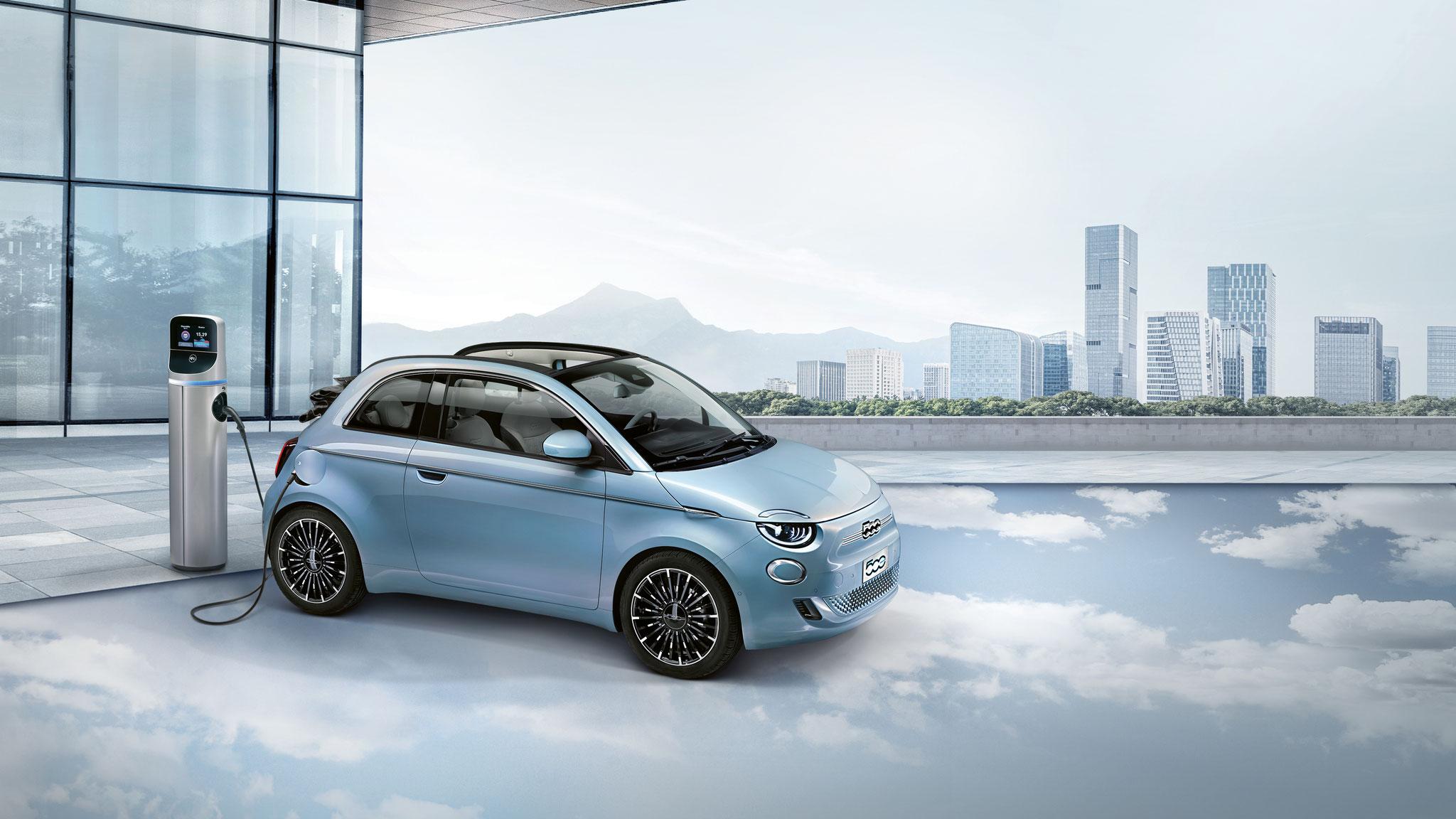 Der neue Fiat 500 voll elektrisch: Jetzt Termin vereinbaren!