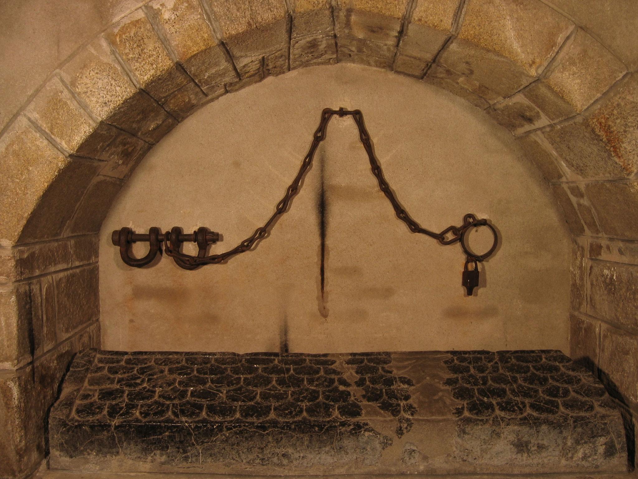 Le tombeau de saint Léonard