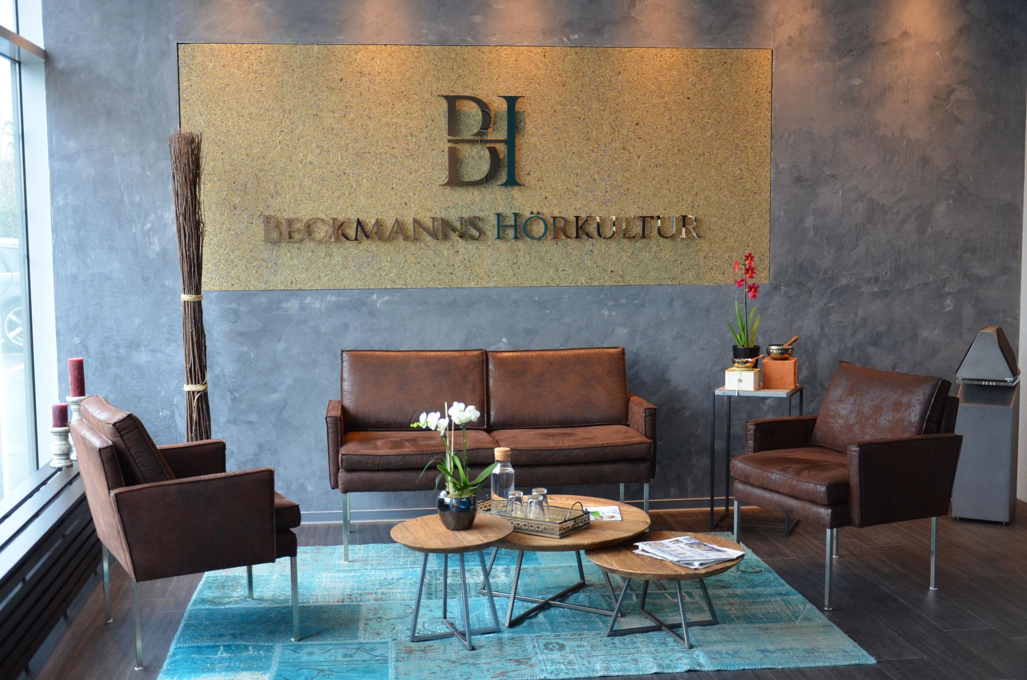 Wartebereich Beckmanns Hörkultur