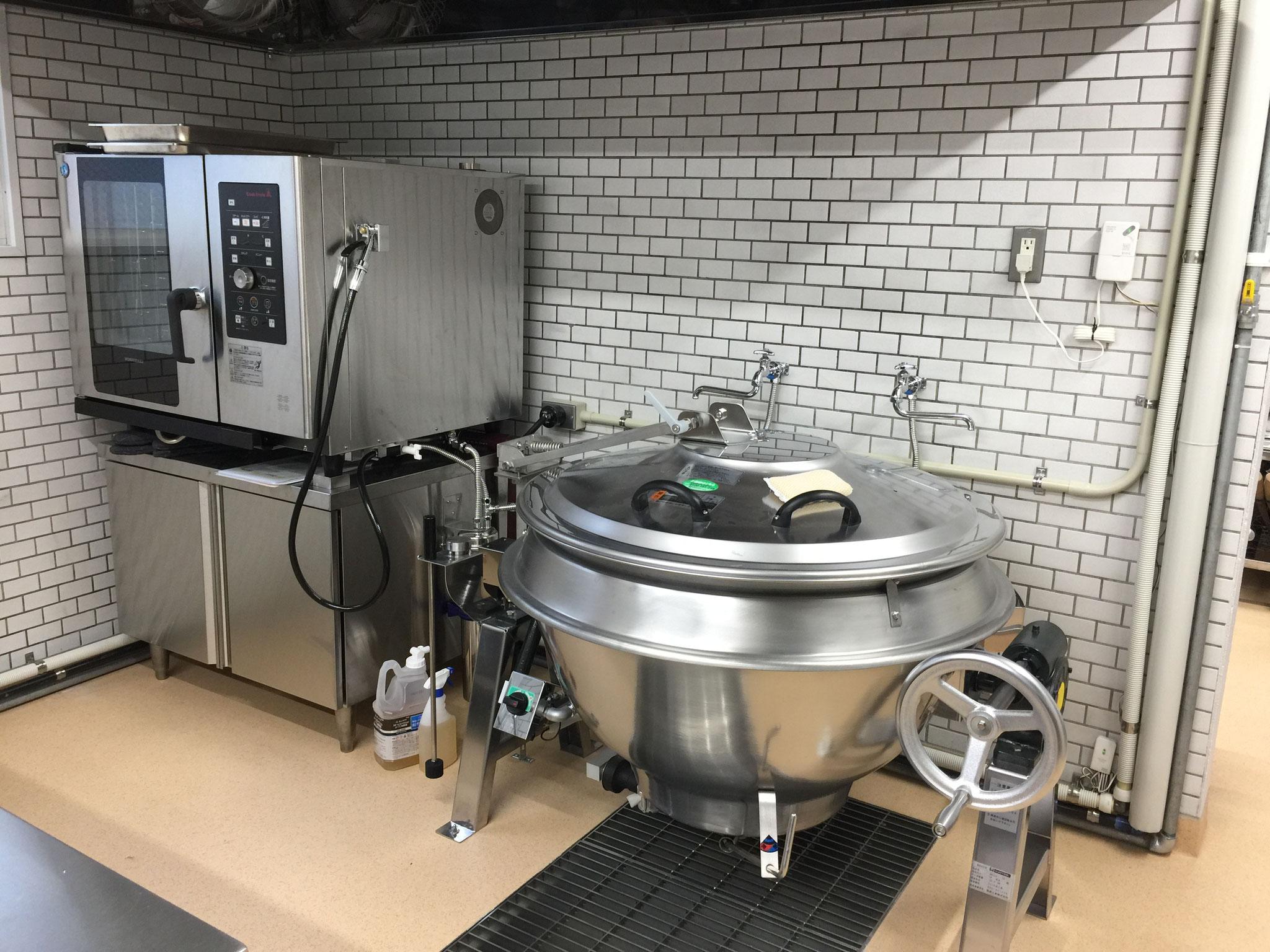 新給食室完成!!