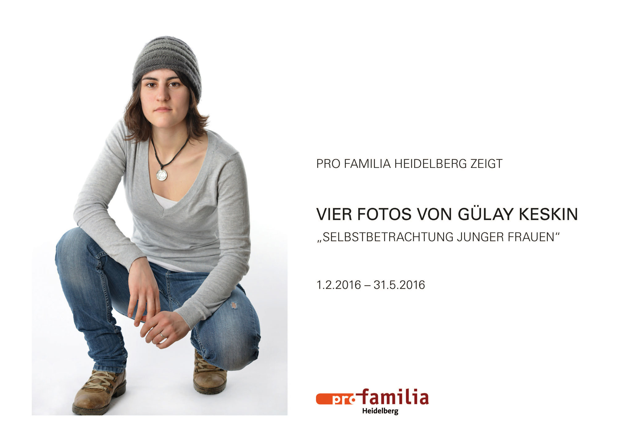 Selbstbetrachtung junger Frauen, Heidelberg 2016