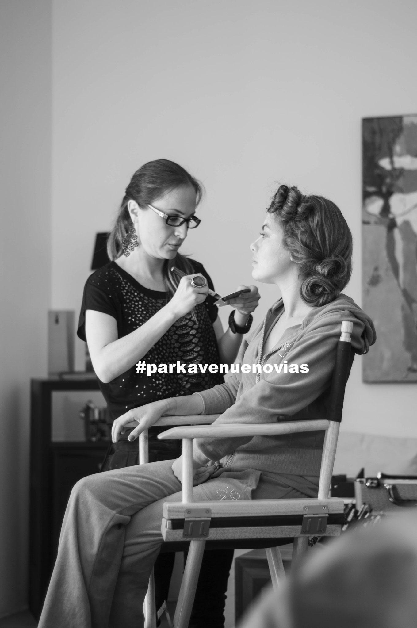 Proceso de Maquillaje con Aerógrafo Video en You Tube