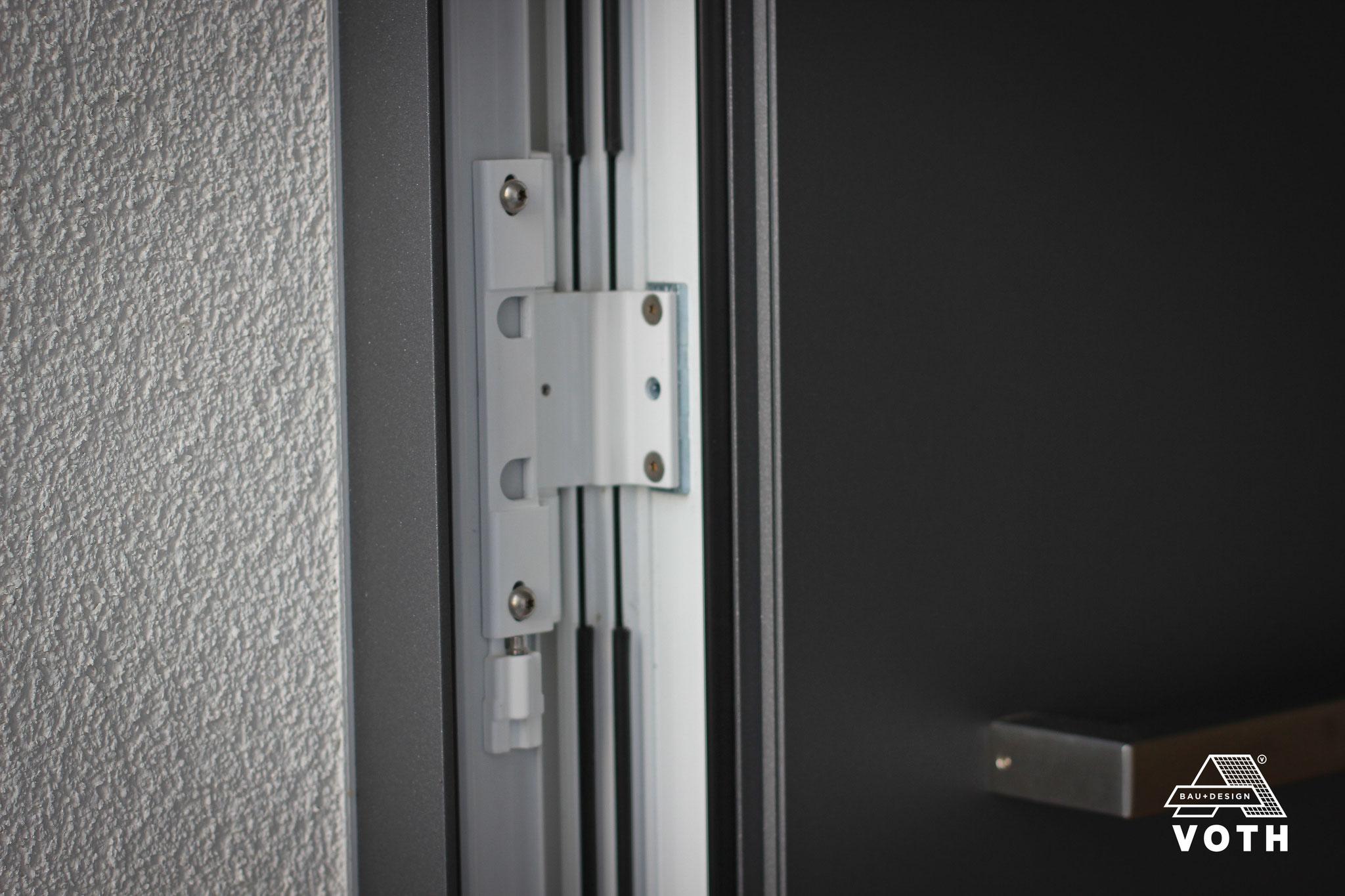 Exklusive Haustüre mit 3-teilige Rollentürbänder!