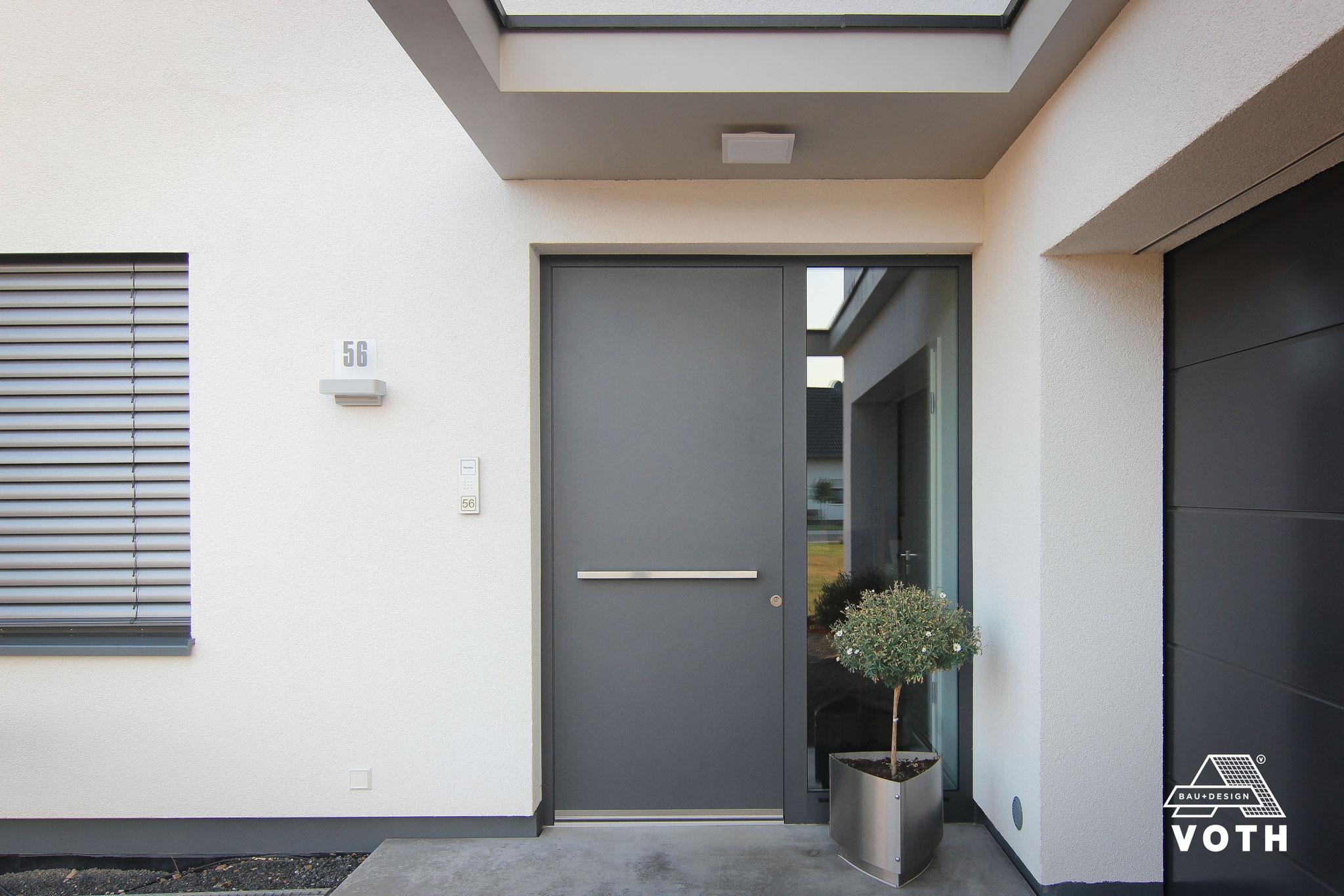 Alu Haustüren von Schüco in Bornheim