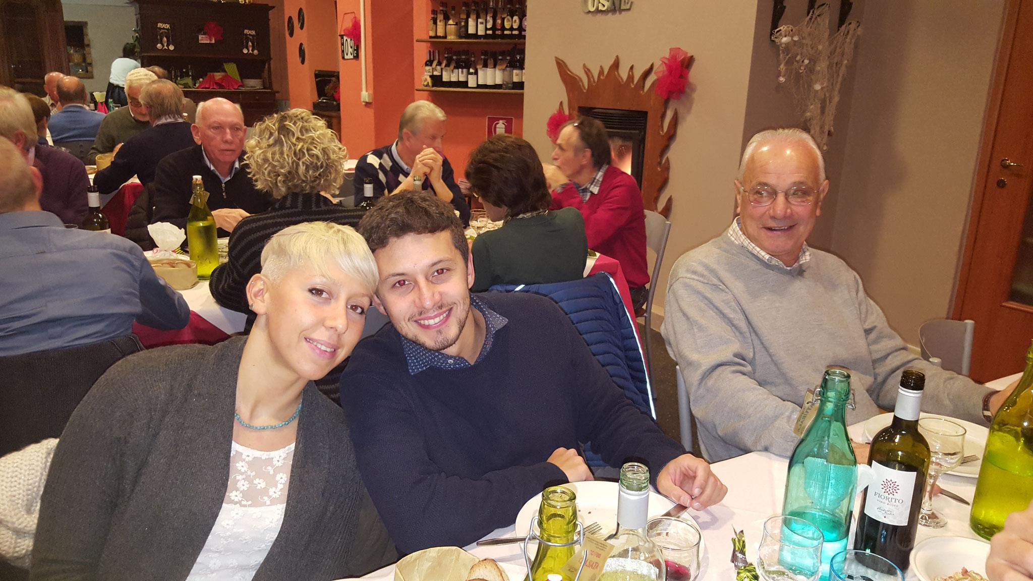 Chiara, Fabrizio e Franco