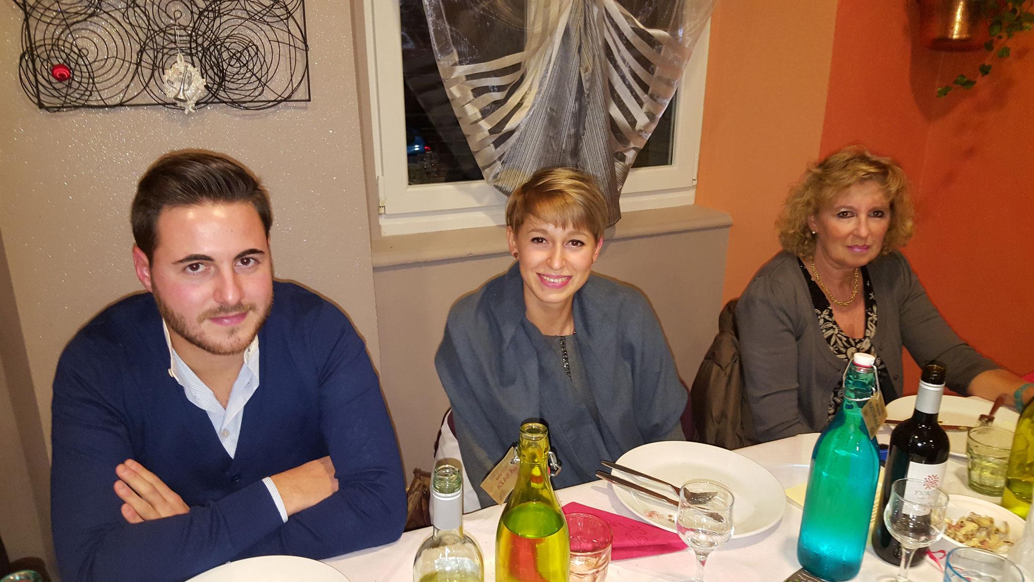 Andrea, Lucia e Flavia