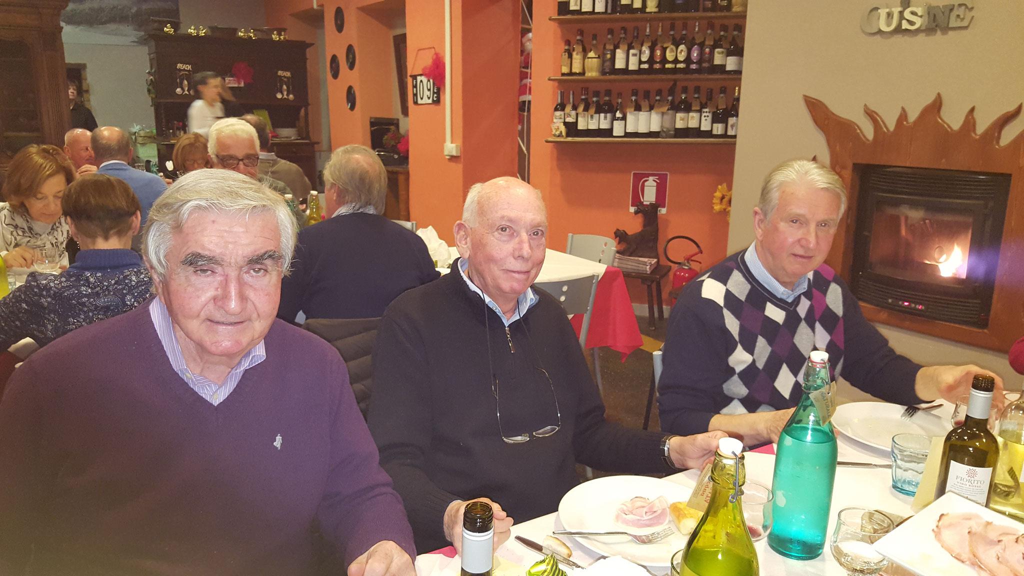 Roberto, Nello e Giuseppe Cortellini