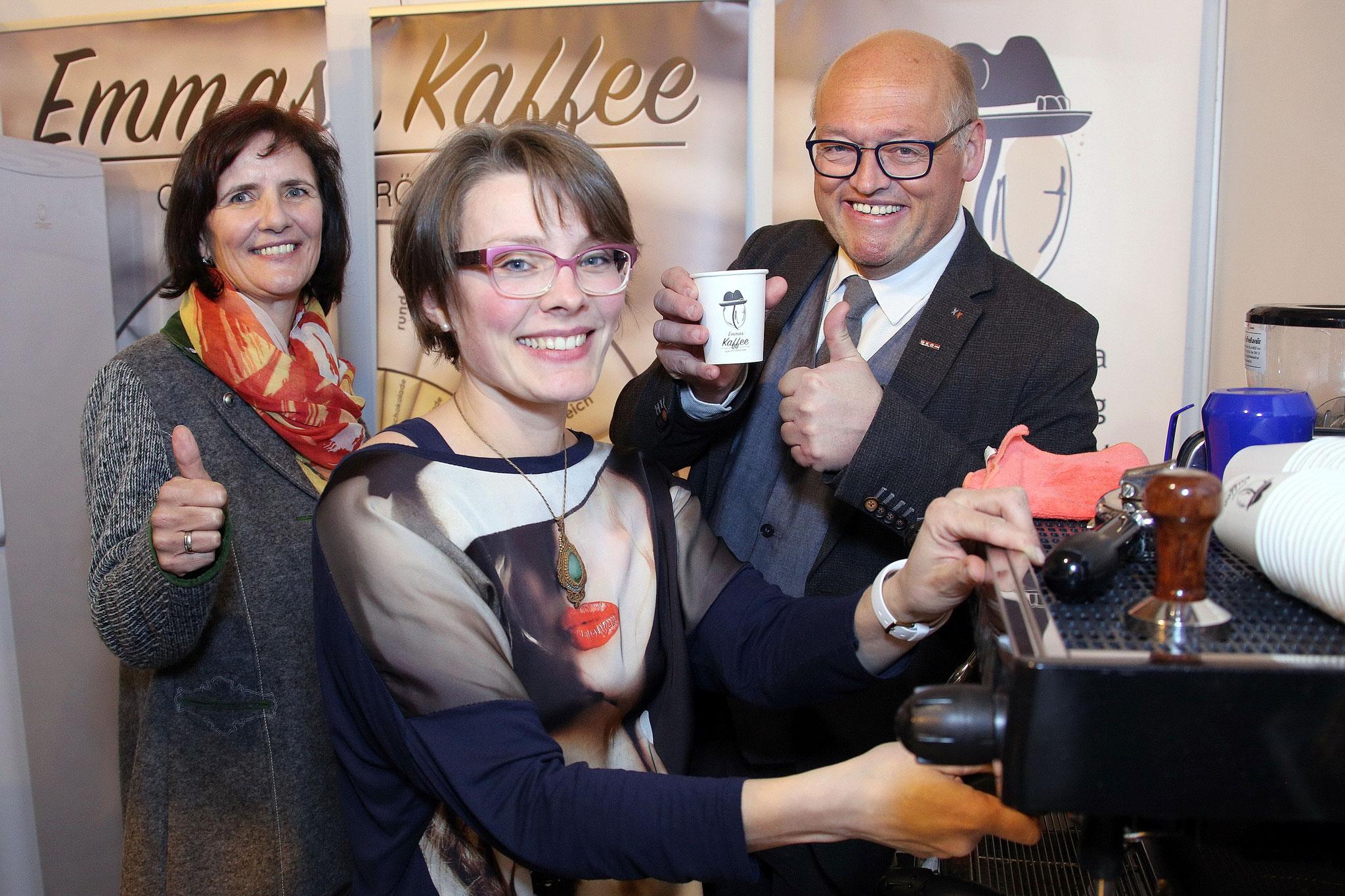 Kaffee-Genuss am Emmas Kaffee Stand