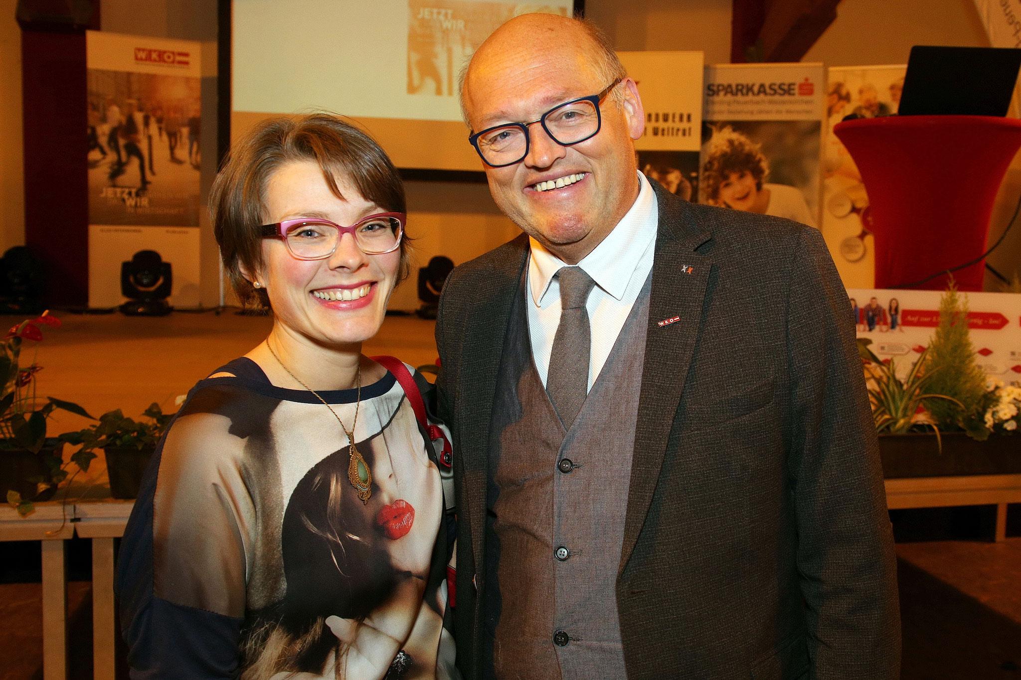 Martina Pauzenberger und Laurenz Pöttinger auf den Neukirchner Messetagen!
