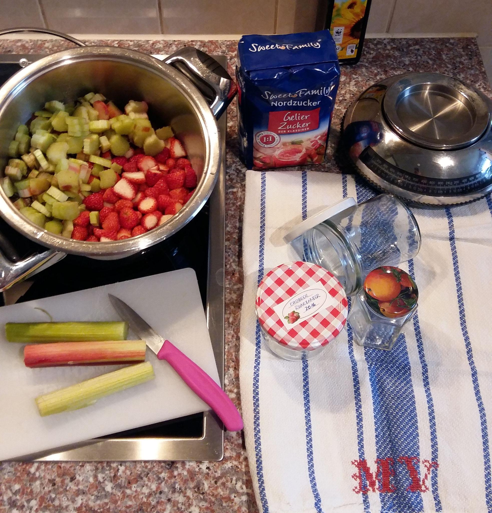 Wir machen Marmelade!