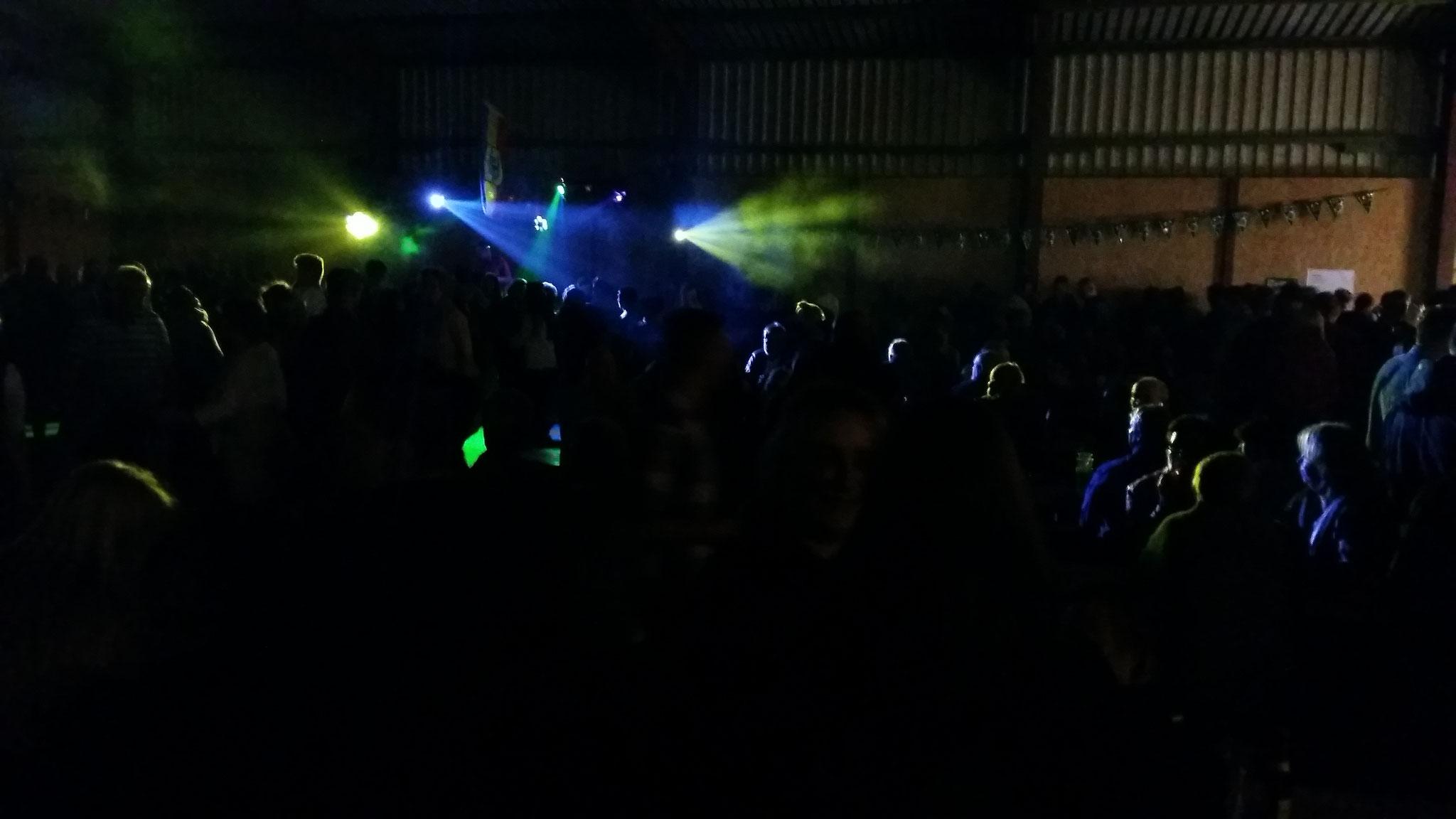 Die Halle war gut gefüllt.