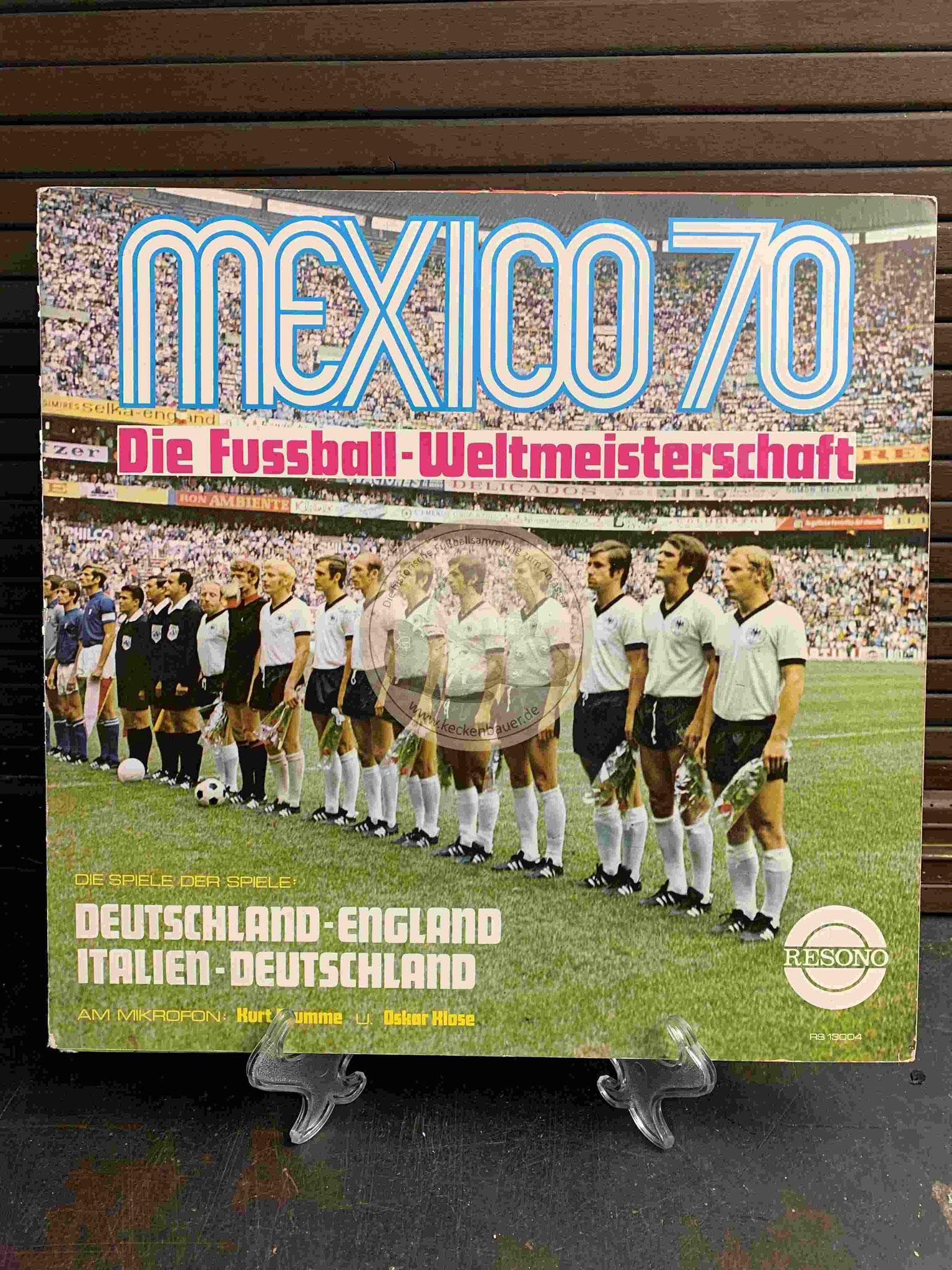 1970 Mexico 70 Die Fussball-Weltmeisterschaft in Farbe