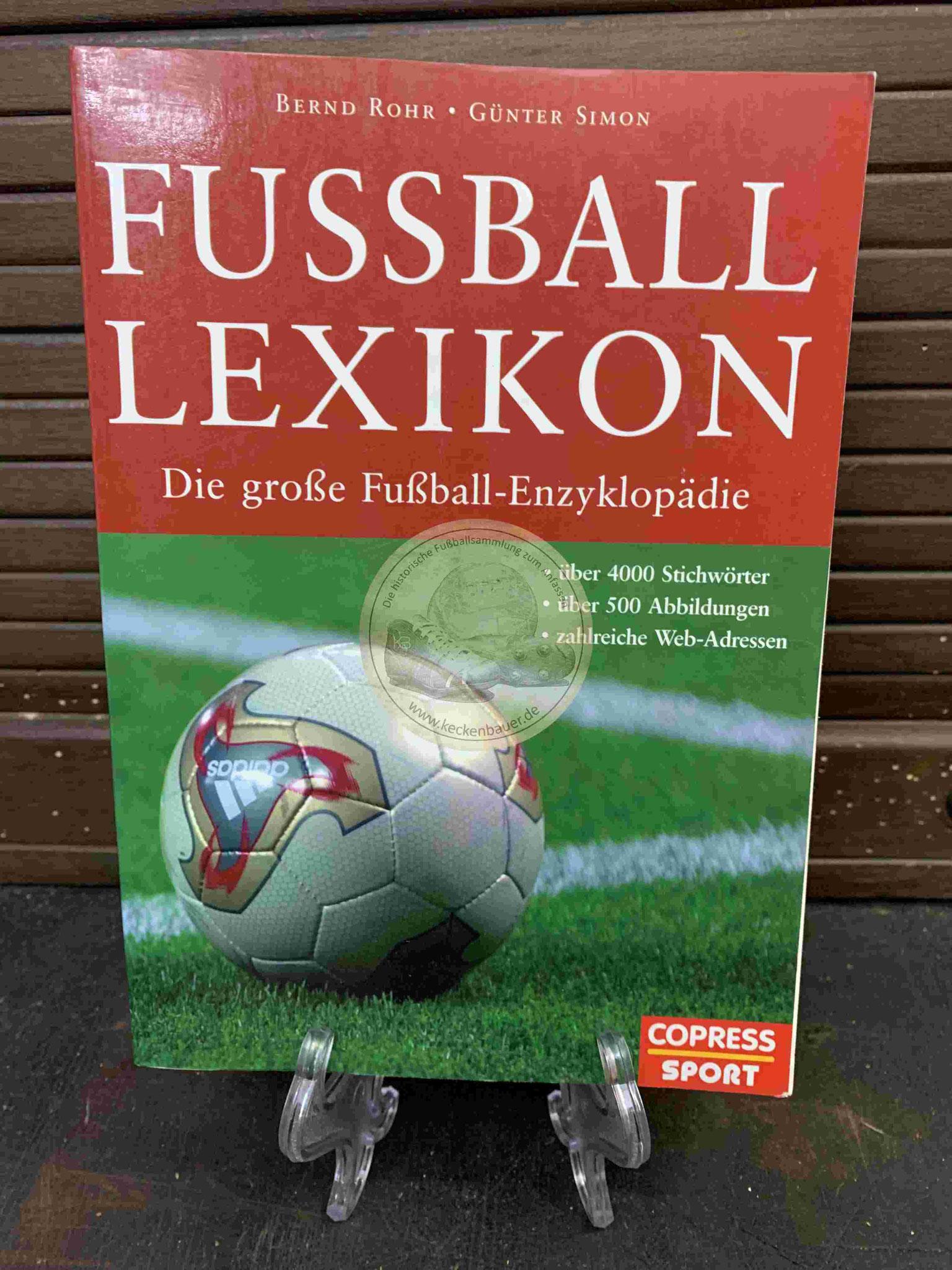 Fussball Lexikon aus dem Jahr 2004