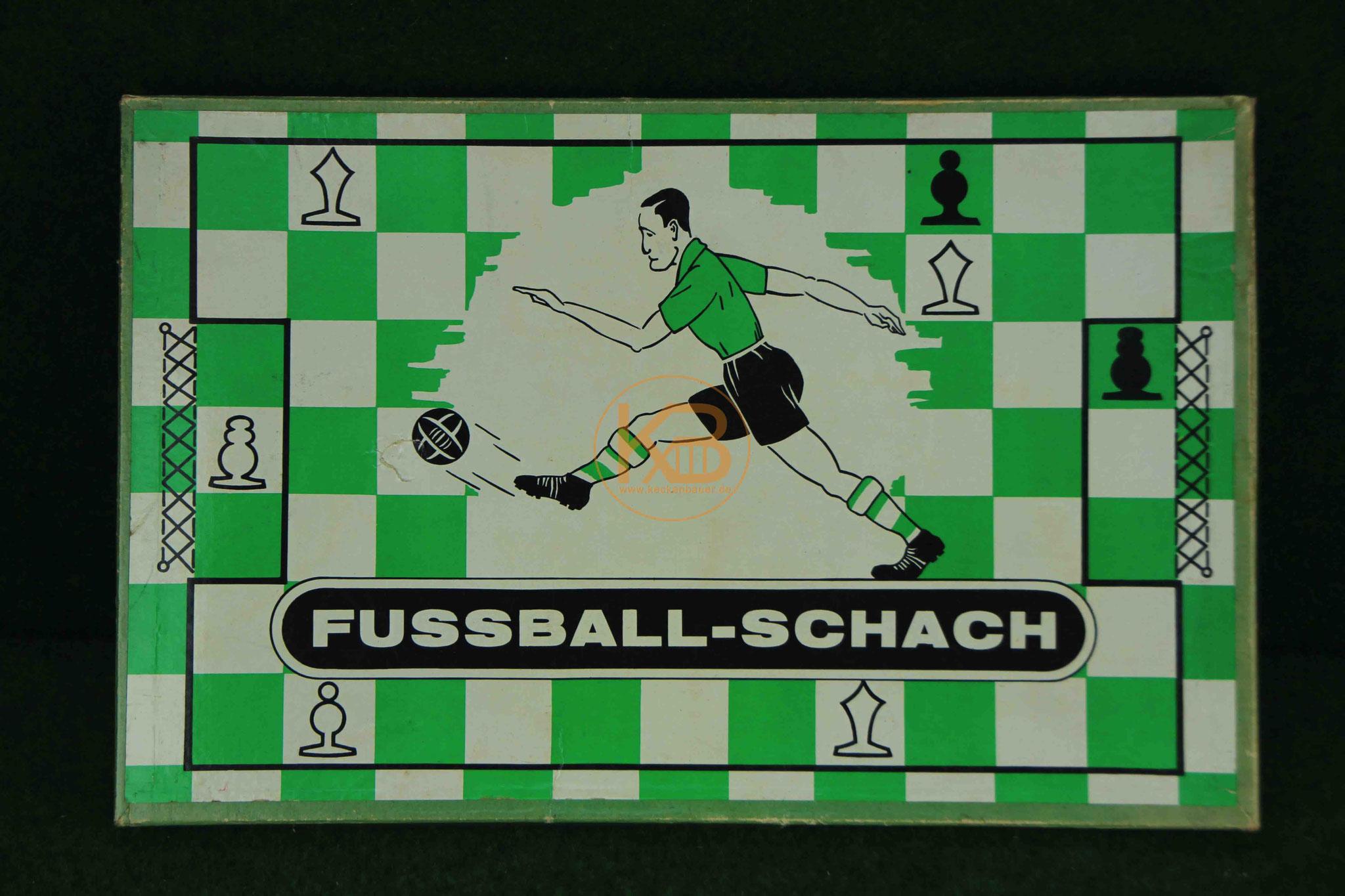 Fussball-Schach Goal aus dem Jahre 1951 von Henri Boissier