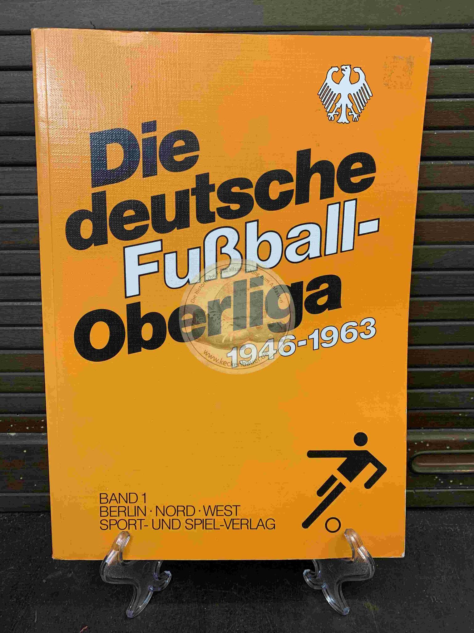 Die deutsche Fußball-Oberliga 1946-1963 aus dem Jahr 1989