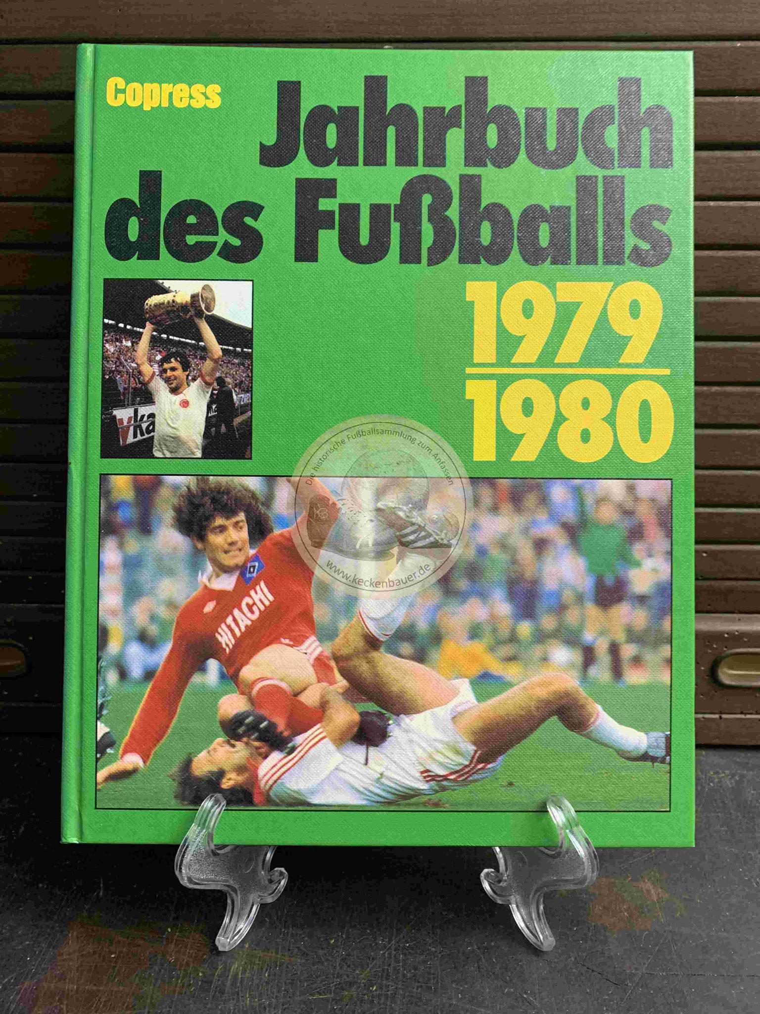 Jahrbuch des Fußballs 1979 vom Copress Verlag