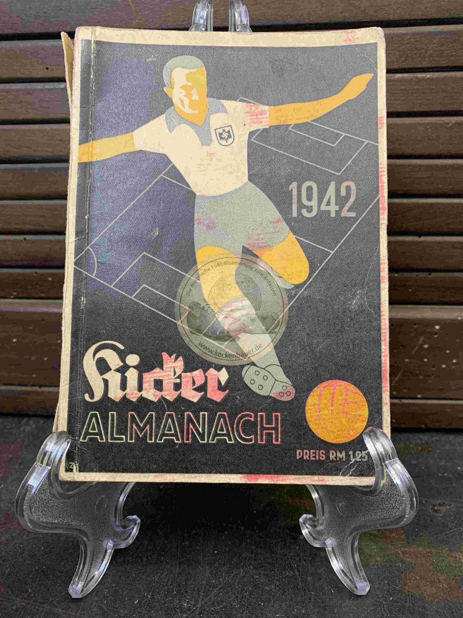 Kicker Almanach aus dem Jahr 1942