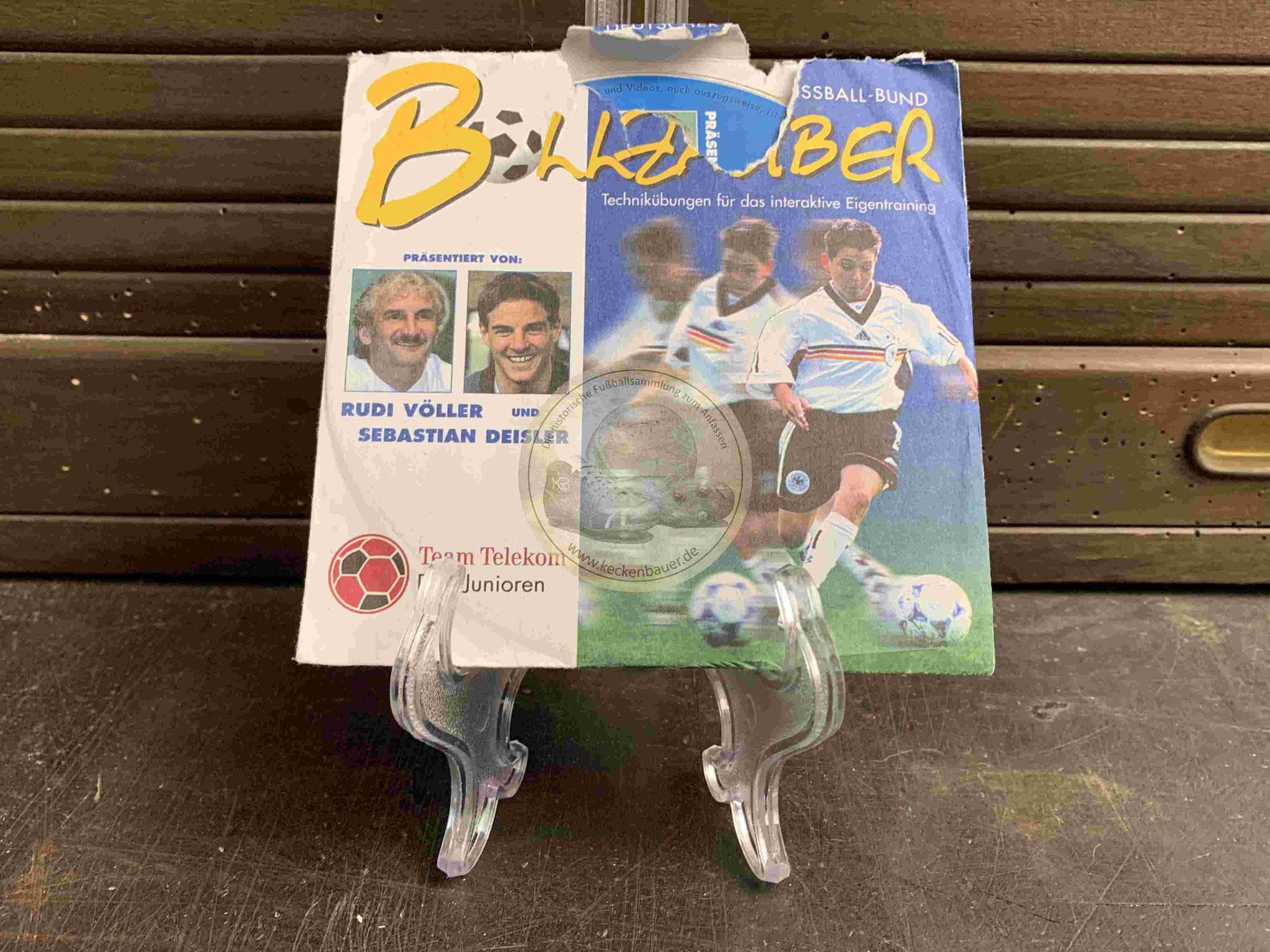 2001 Ballzauber Rudi Völler und Sebastian Deisler