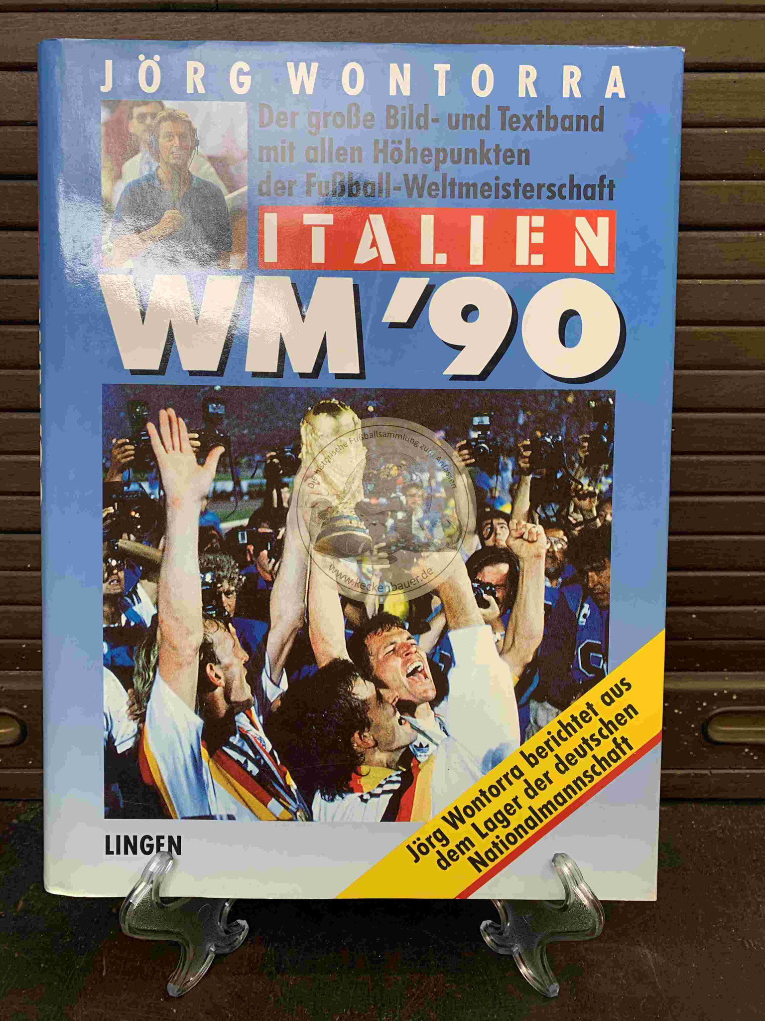 Jörg Wontorra Italien WM ´90