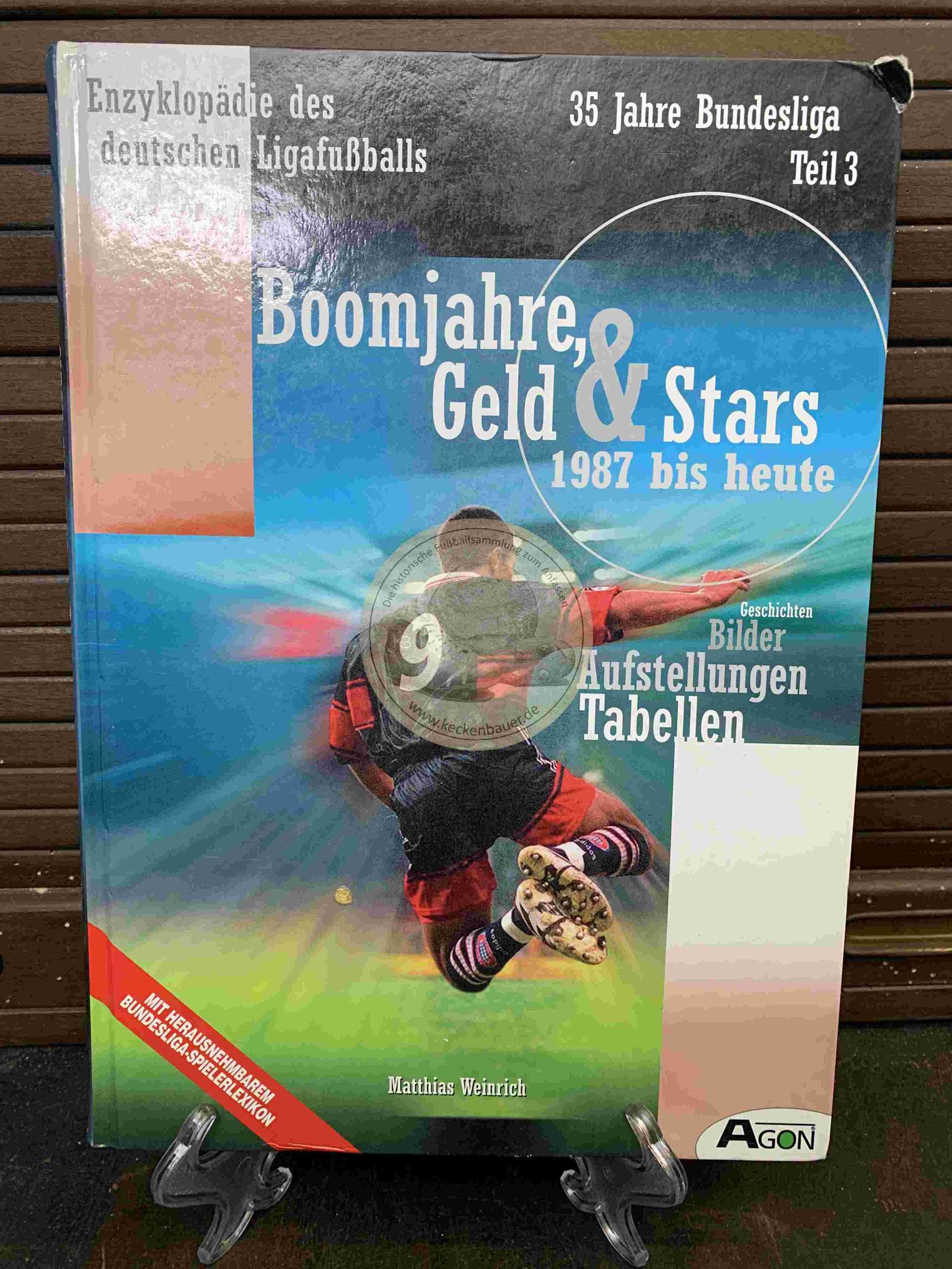 """Enzyklopädie des deutschen Ligafußballs """"Boomjahre, Geld & Stars aus dem Jahr 1999"""