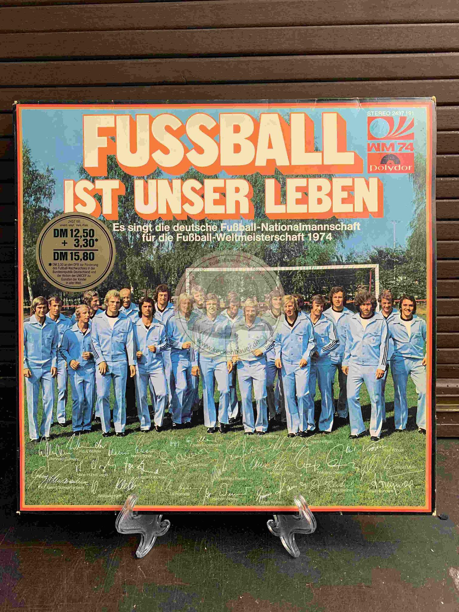 1974 Fussball ist unser Leben